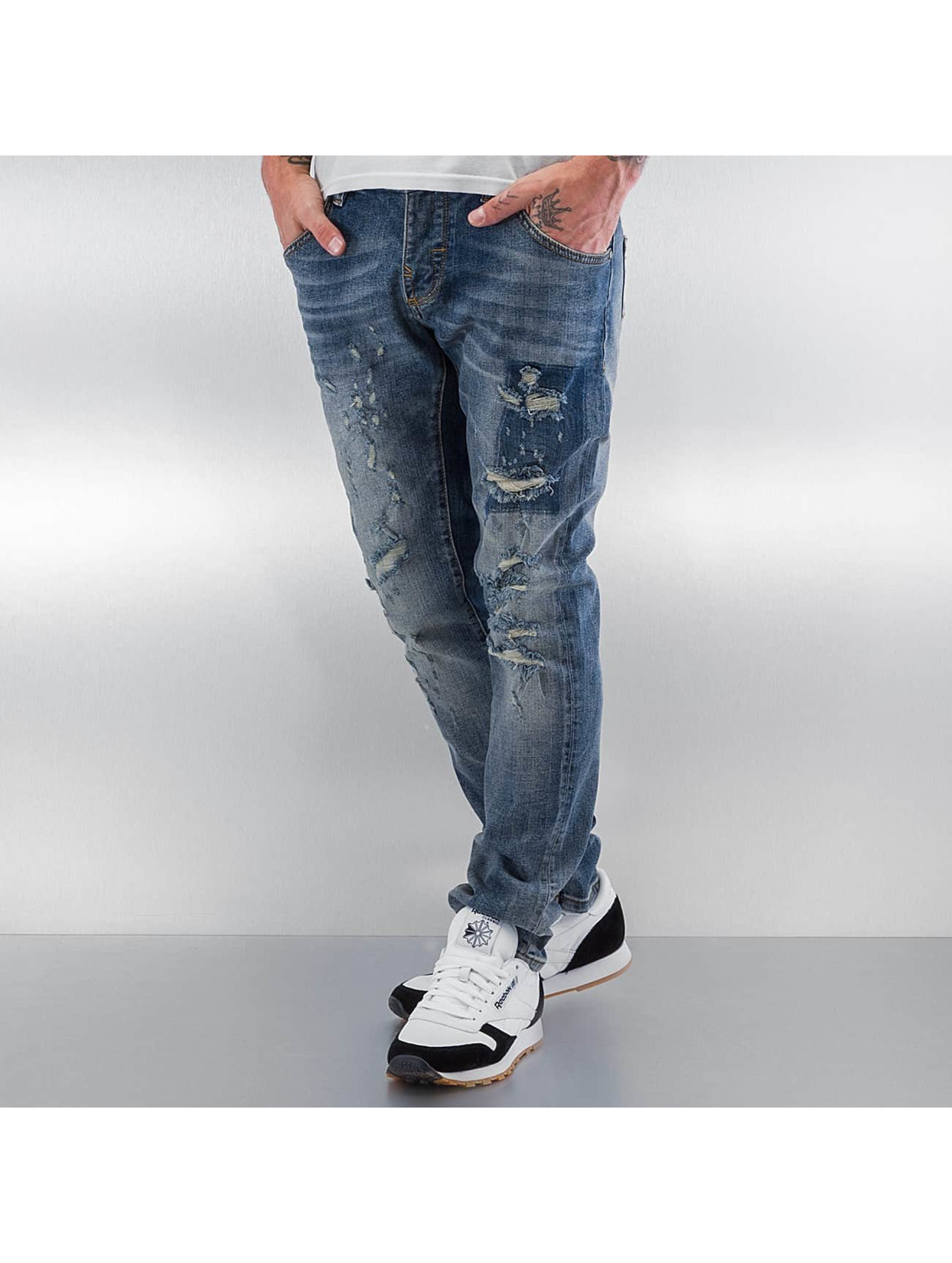 Pascucci Straight fit jeans Siggi blauw