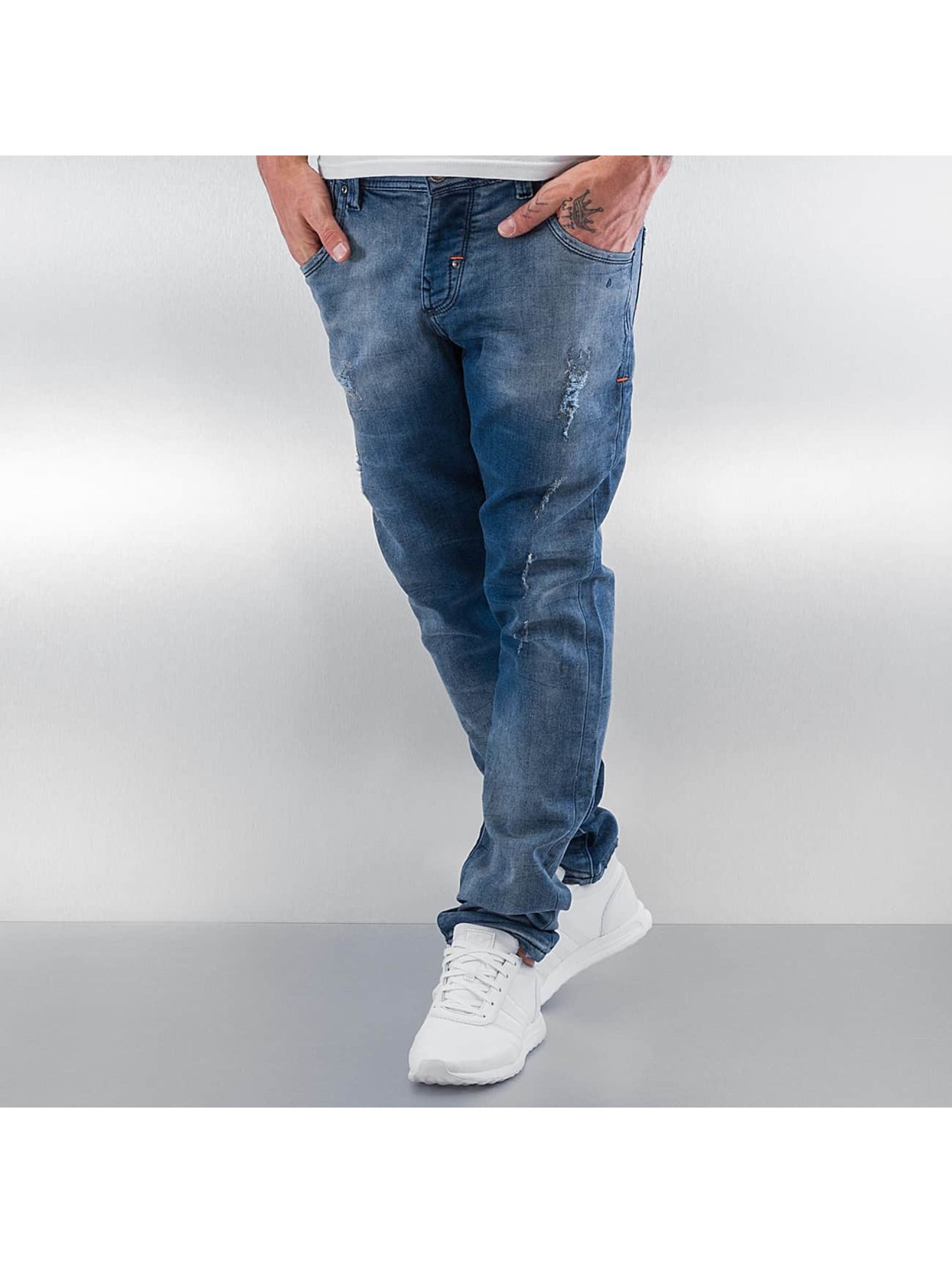 Pascucci Straight fit jeans Ungi blauw