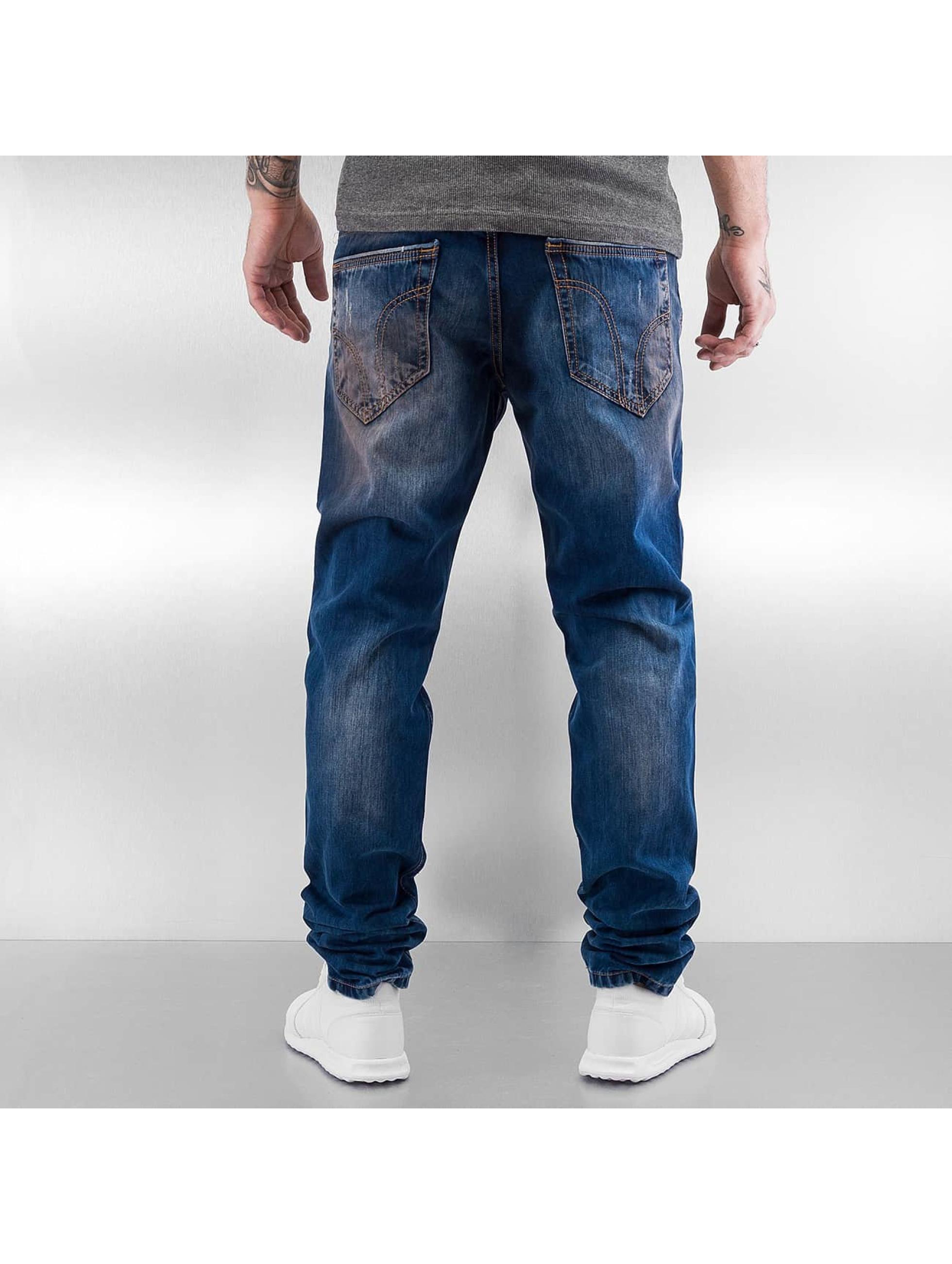 Pascucci Straight fit jeans Kamban blauw