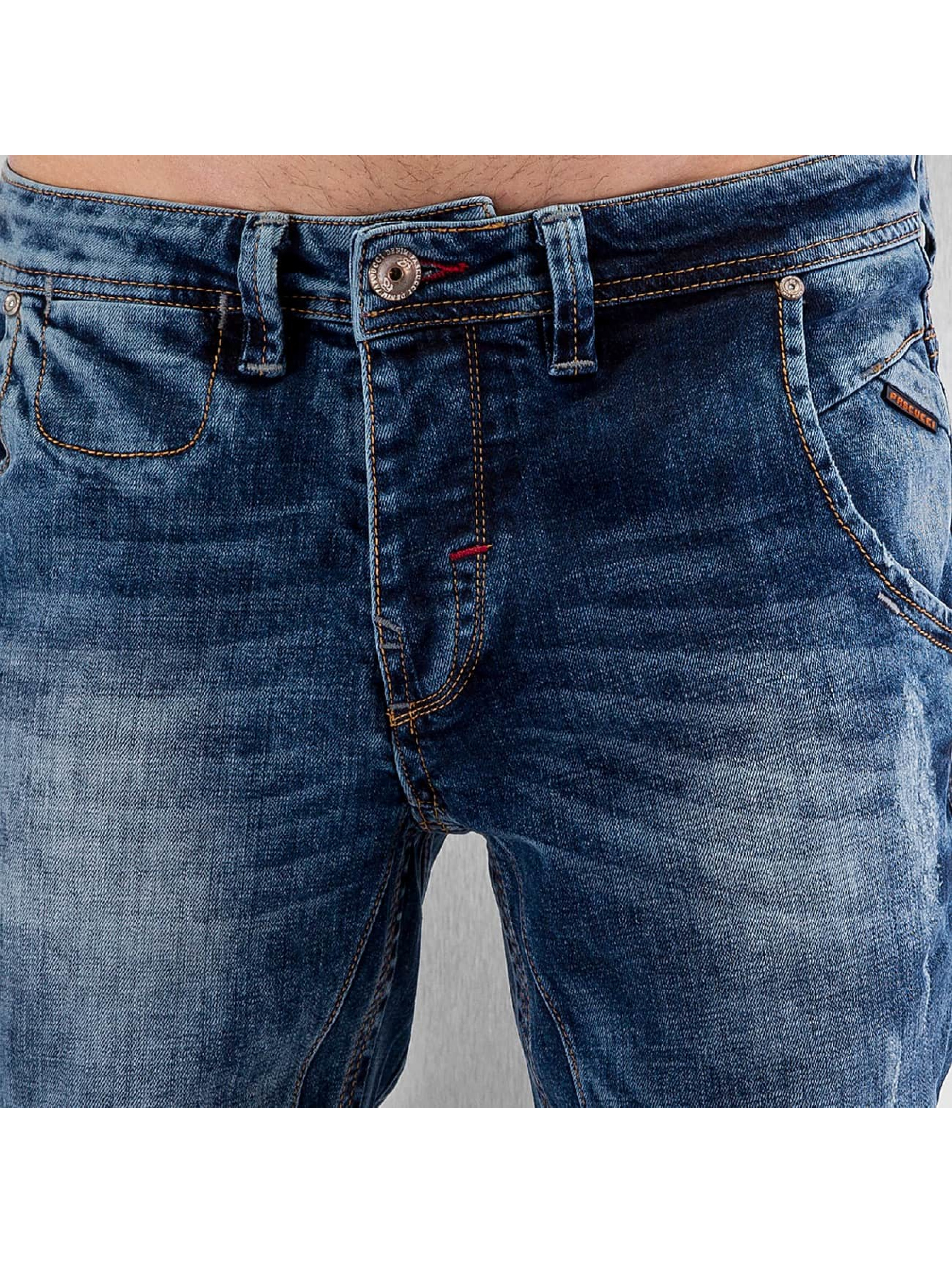 Pascucci Straight fit jeans Gereon blauw