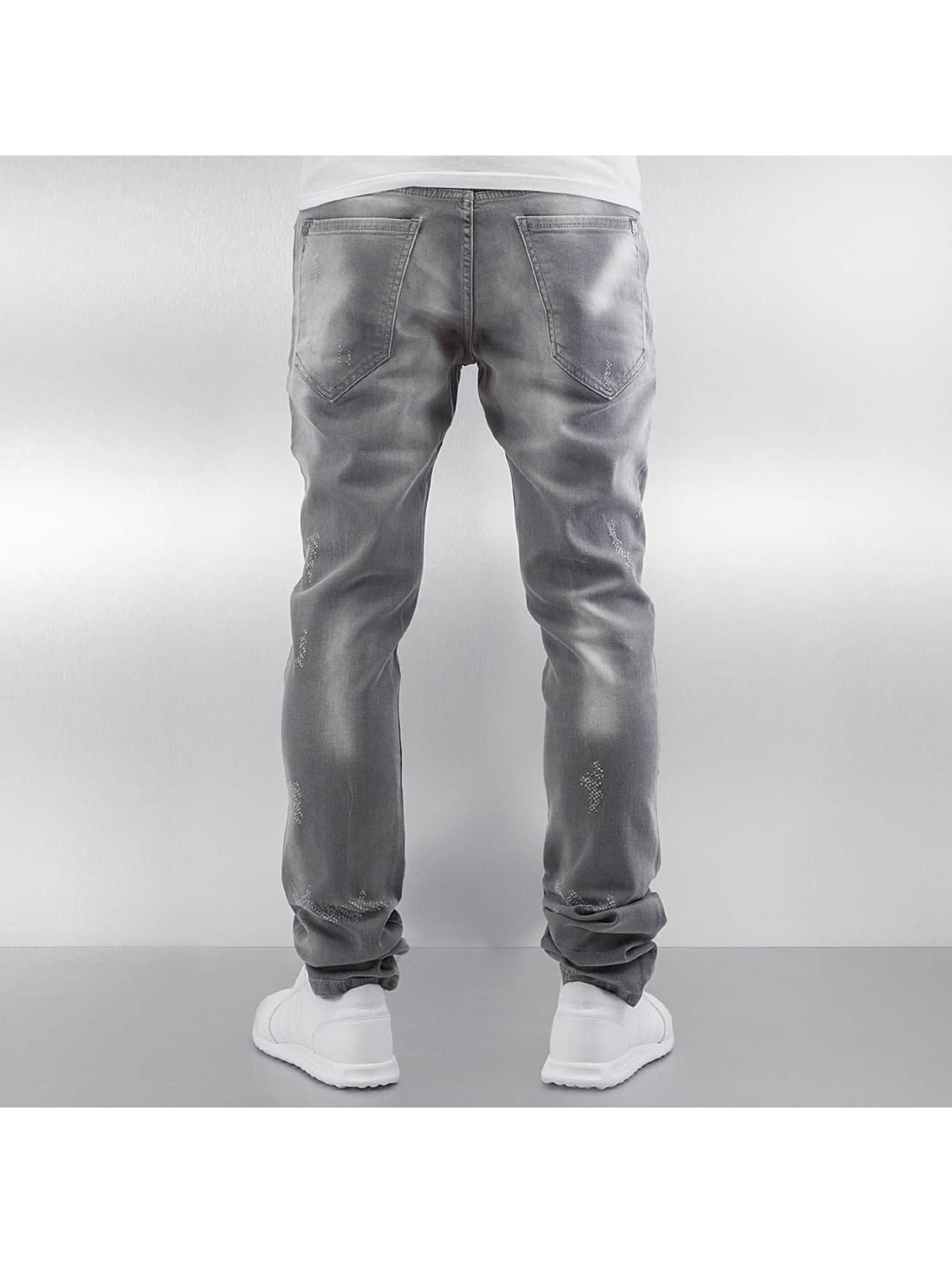 Pascucci Straight Fit Jeans Tossi grå
