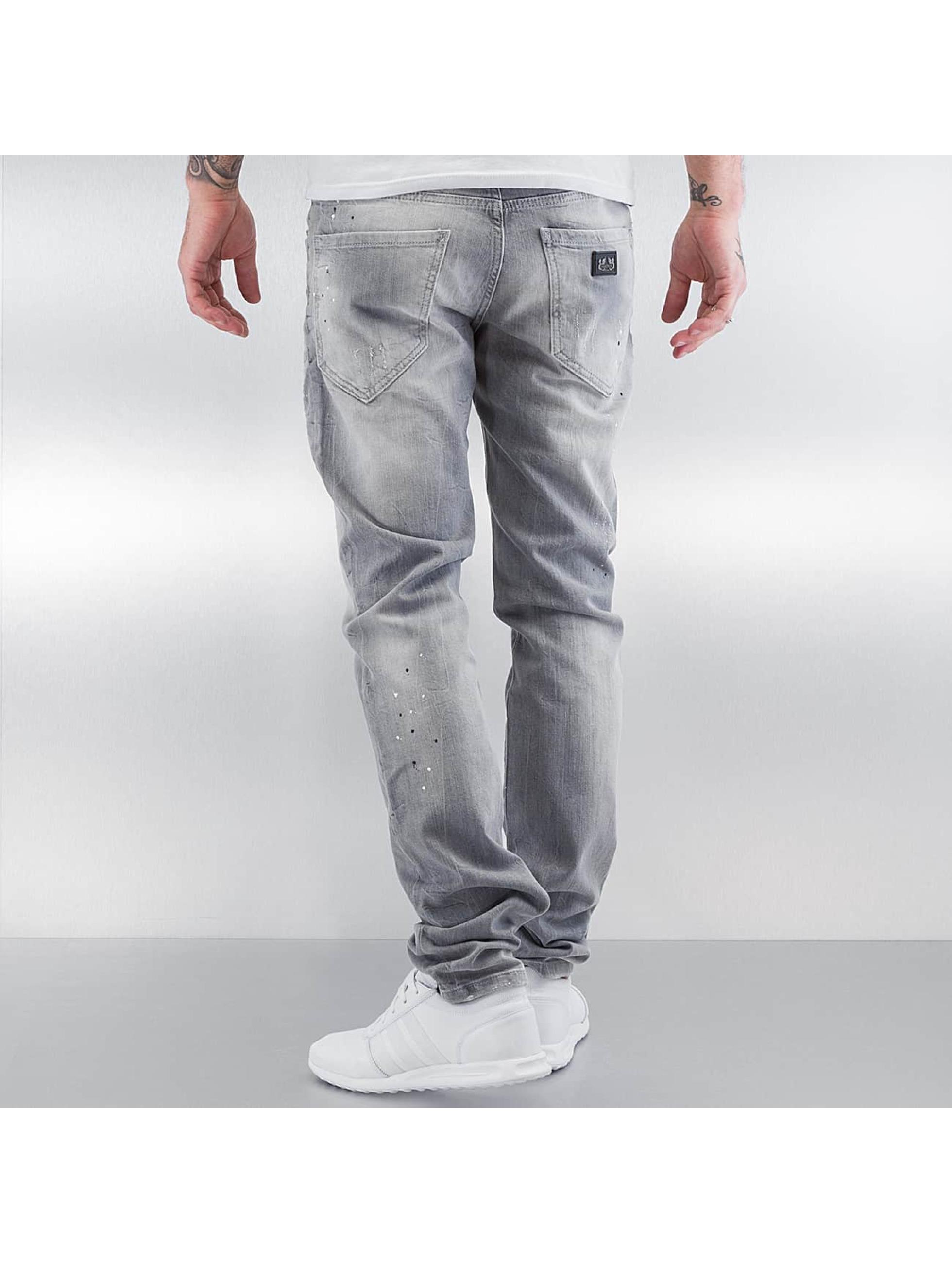 Pascucci Straight Fit Jeans Tony grå