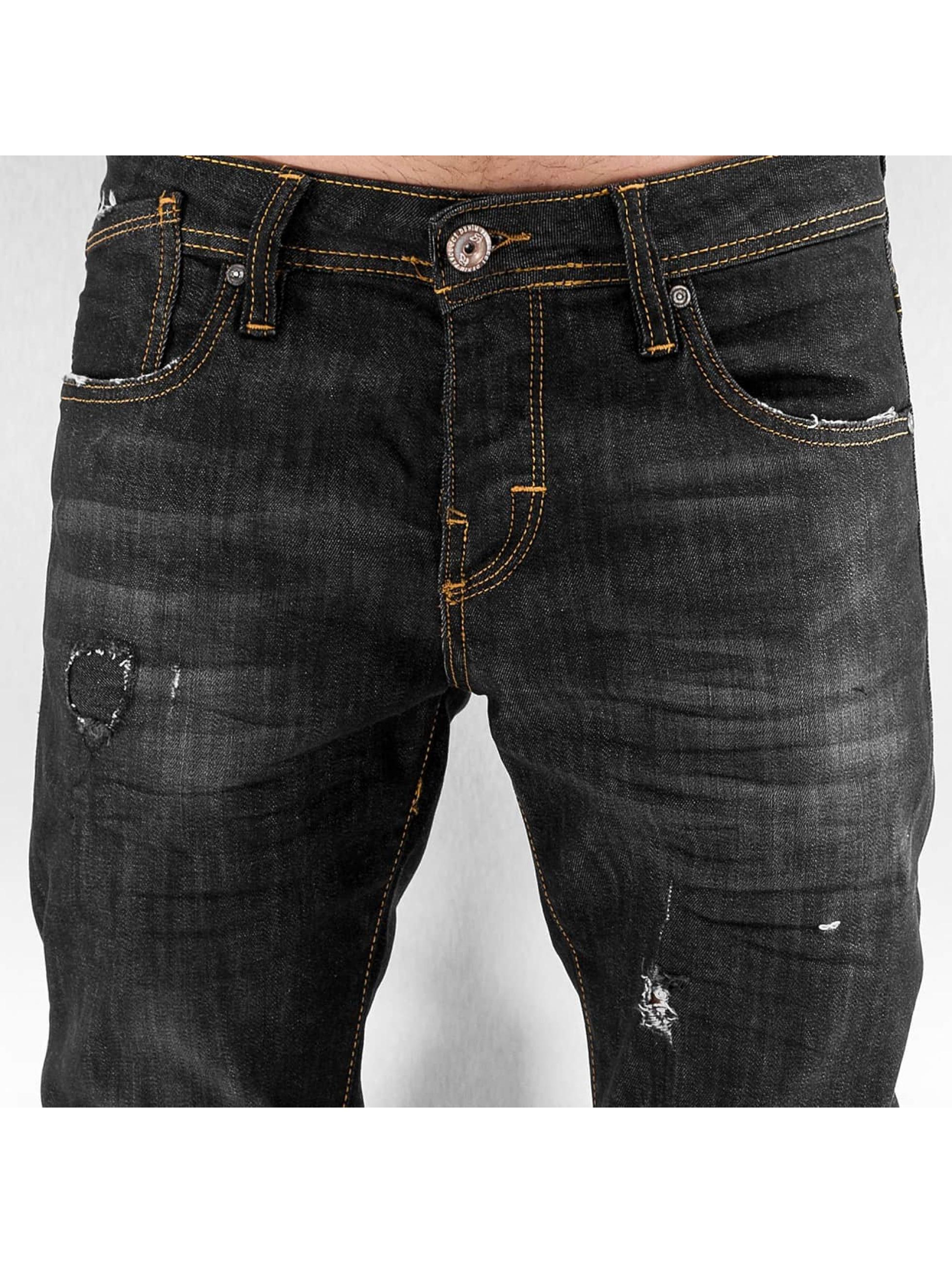 Pascucci Straight Fit Jeans Flora schwarz