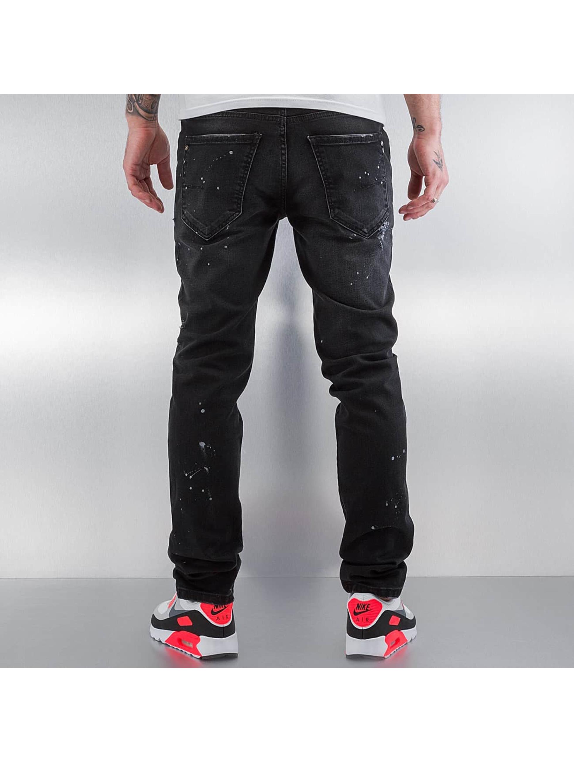 Pascucci Straight Fit Jeans Ferre schwarz