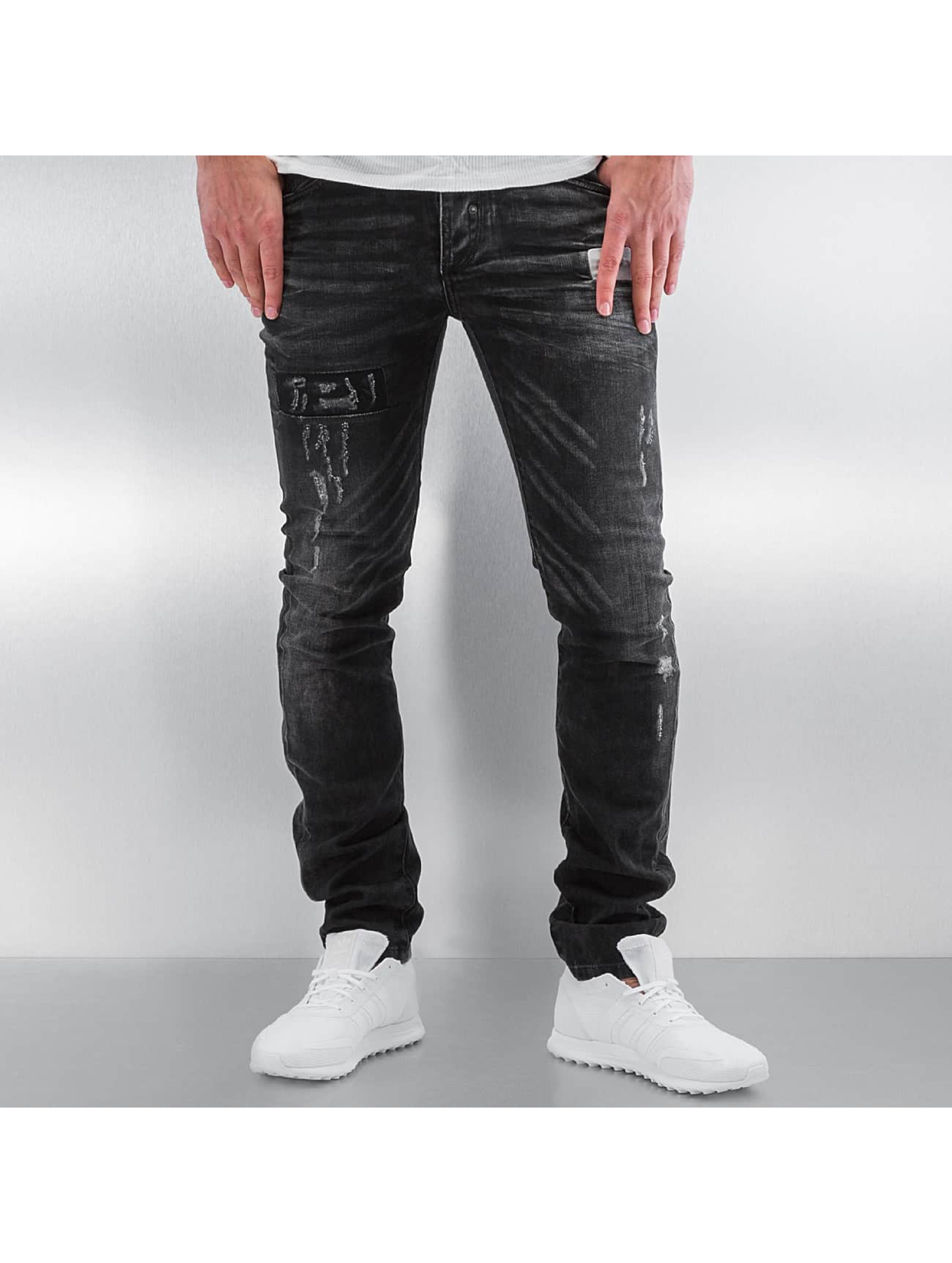 Pascucci Straight Fit Jeans Ascan svart