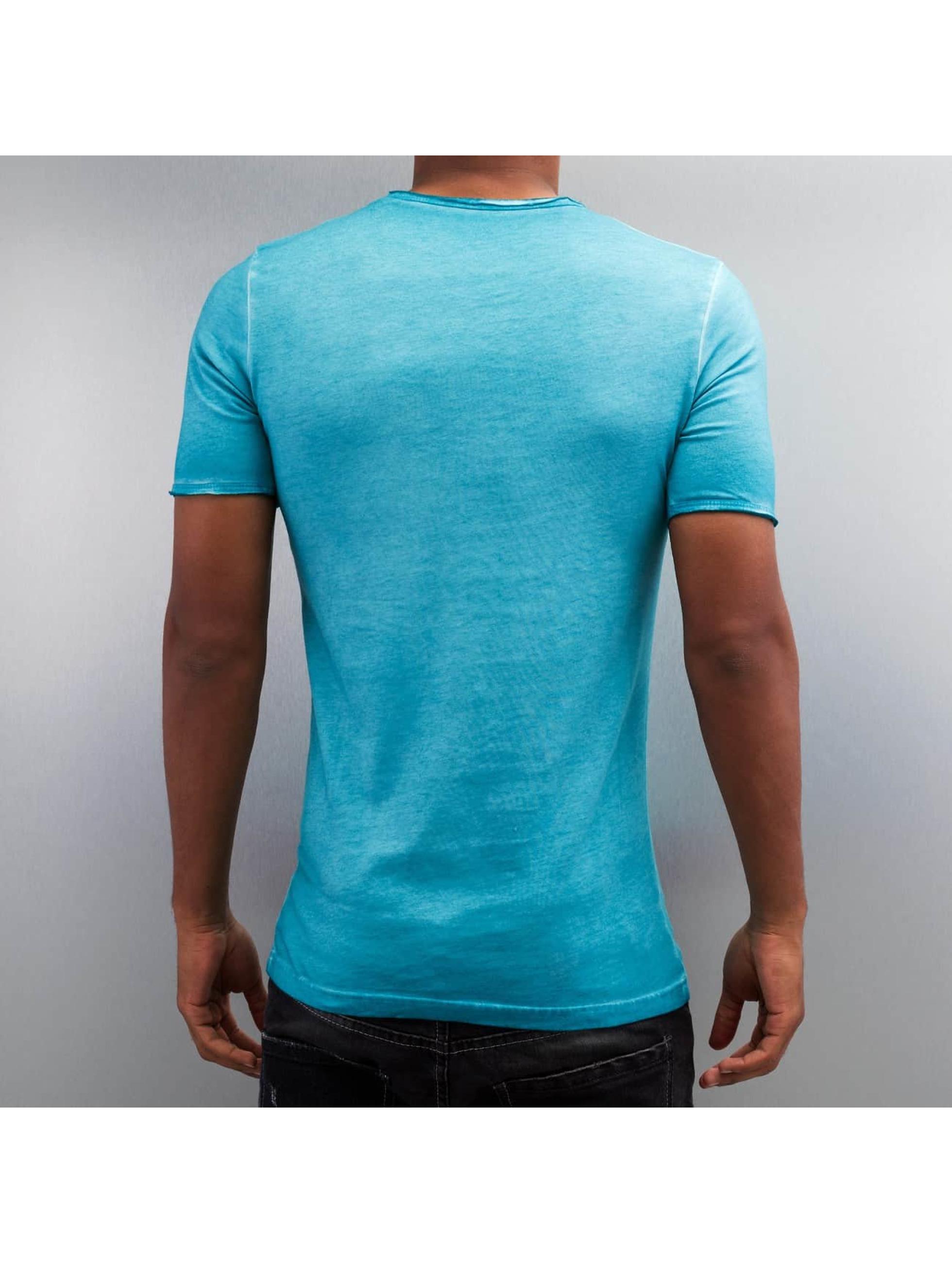 Pascucci Tričká Dyed modrá