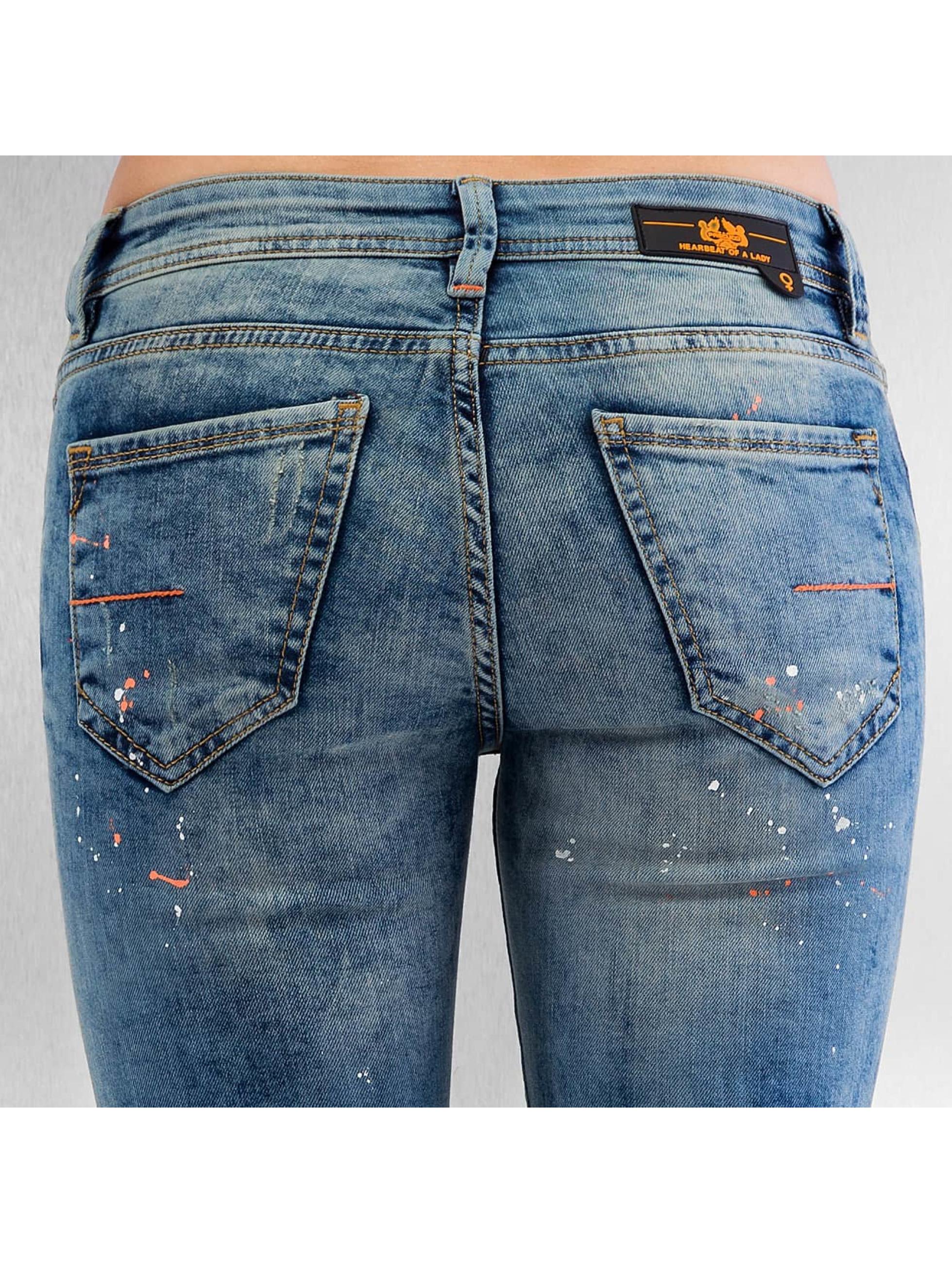 Pascucci Tynne bukser B-Leny blå