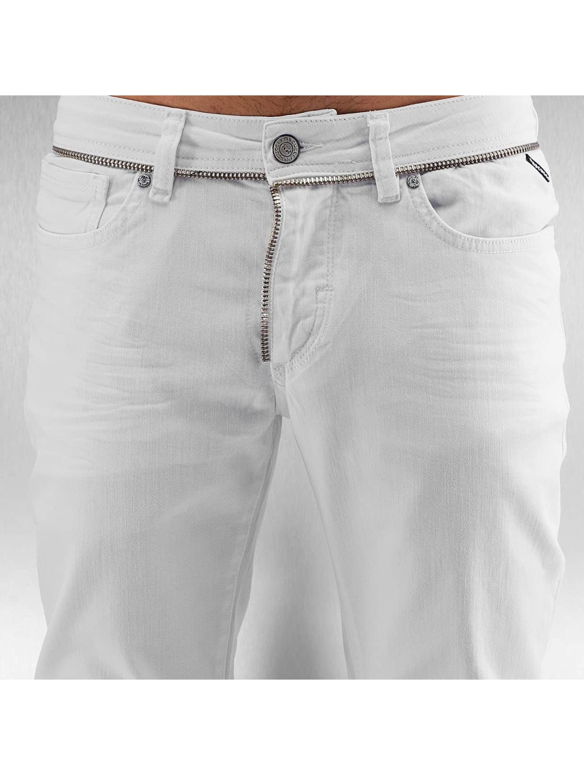 Pascucci Tynne bukser Hash hvit