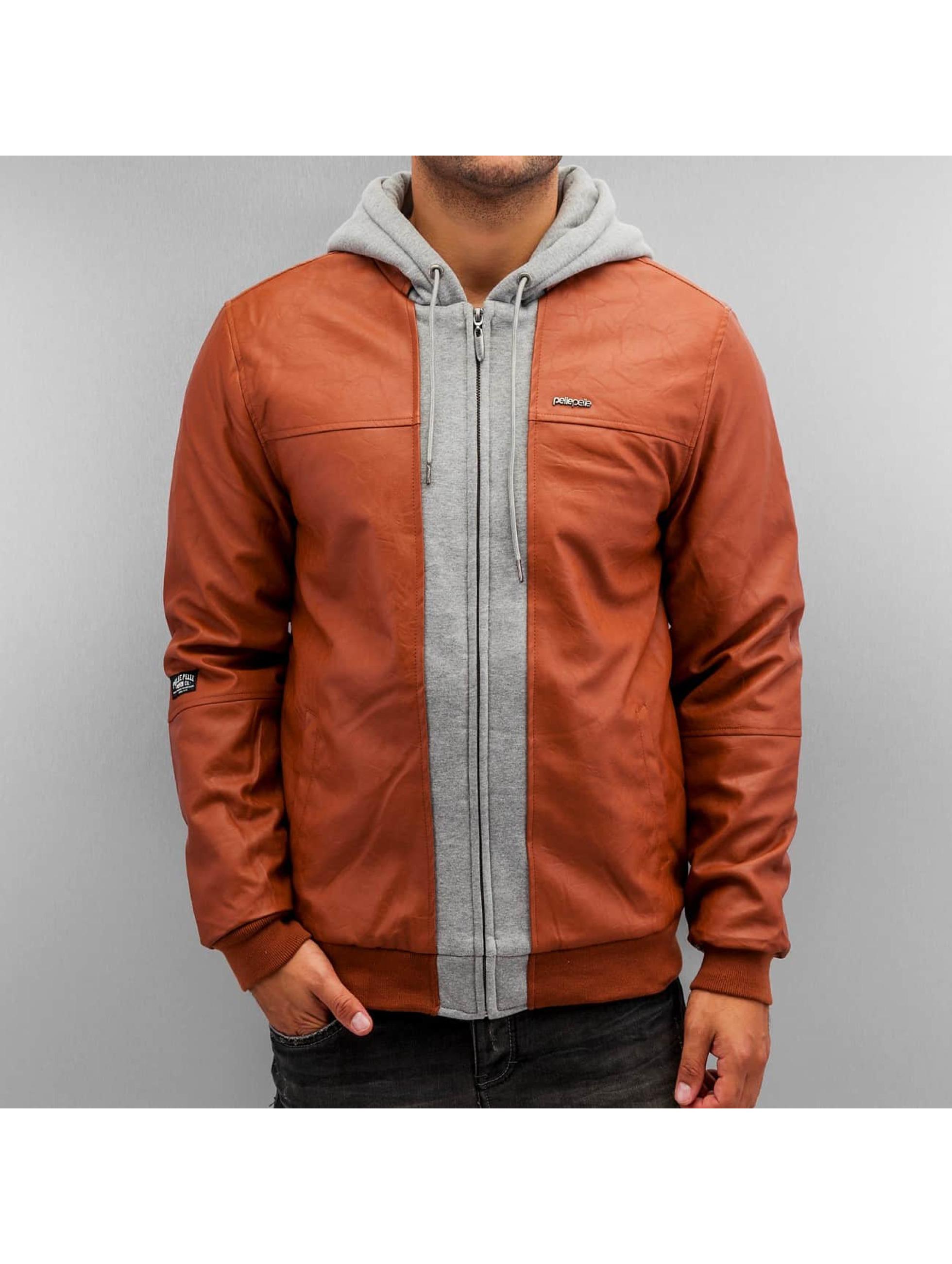 Pelle Pelle Кожаная куртка Mix-Up коричневый