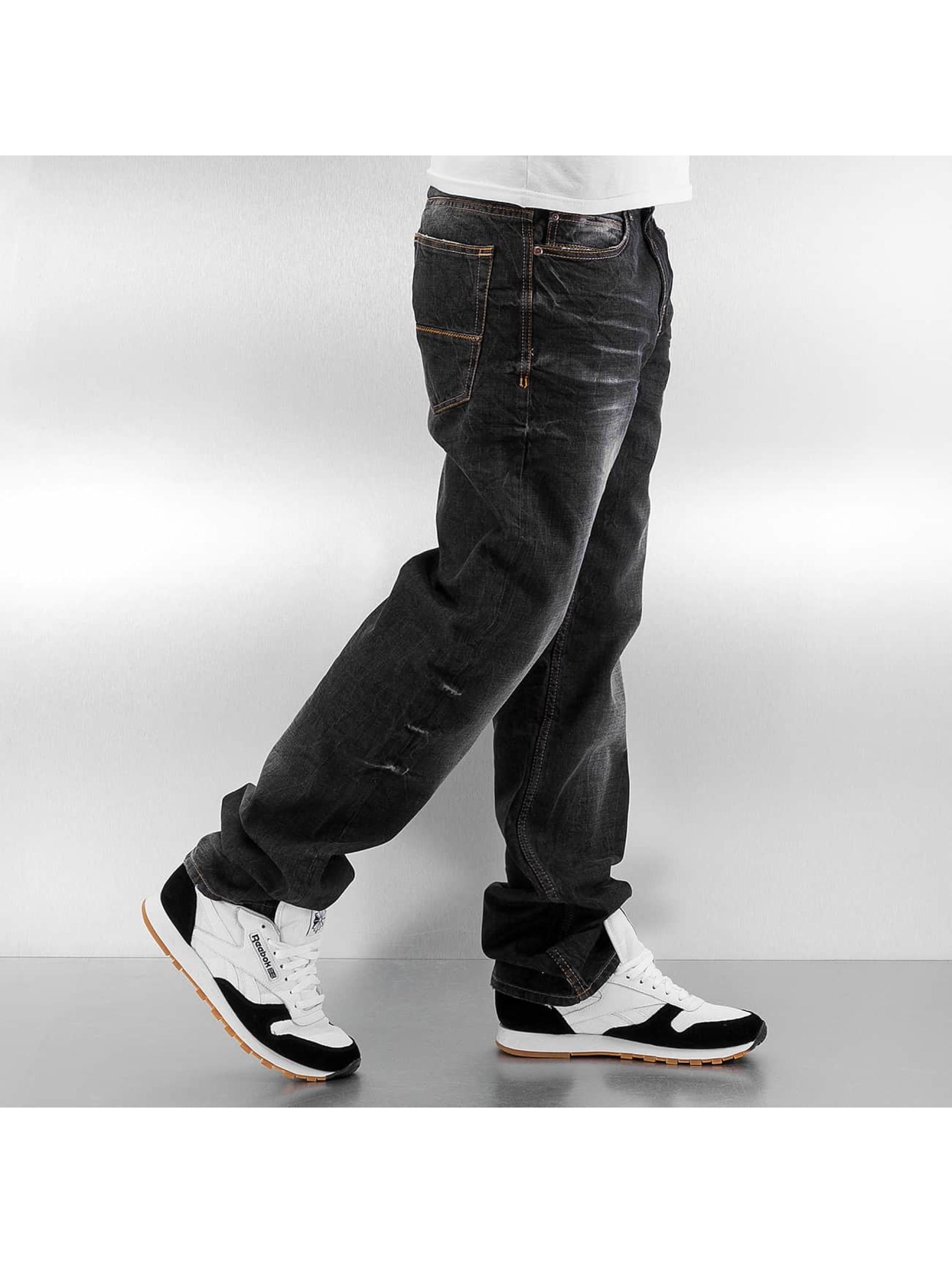 Pelle Pelle Løstsittende bukser Baxter svart