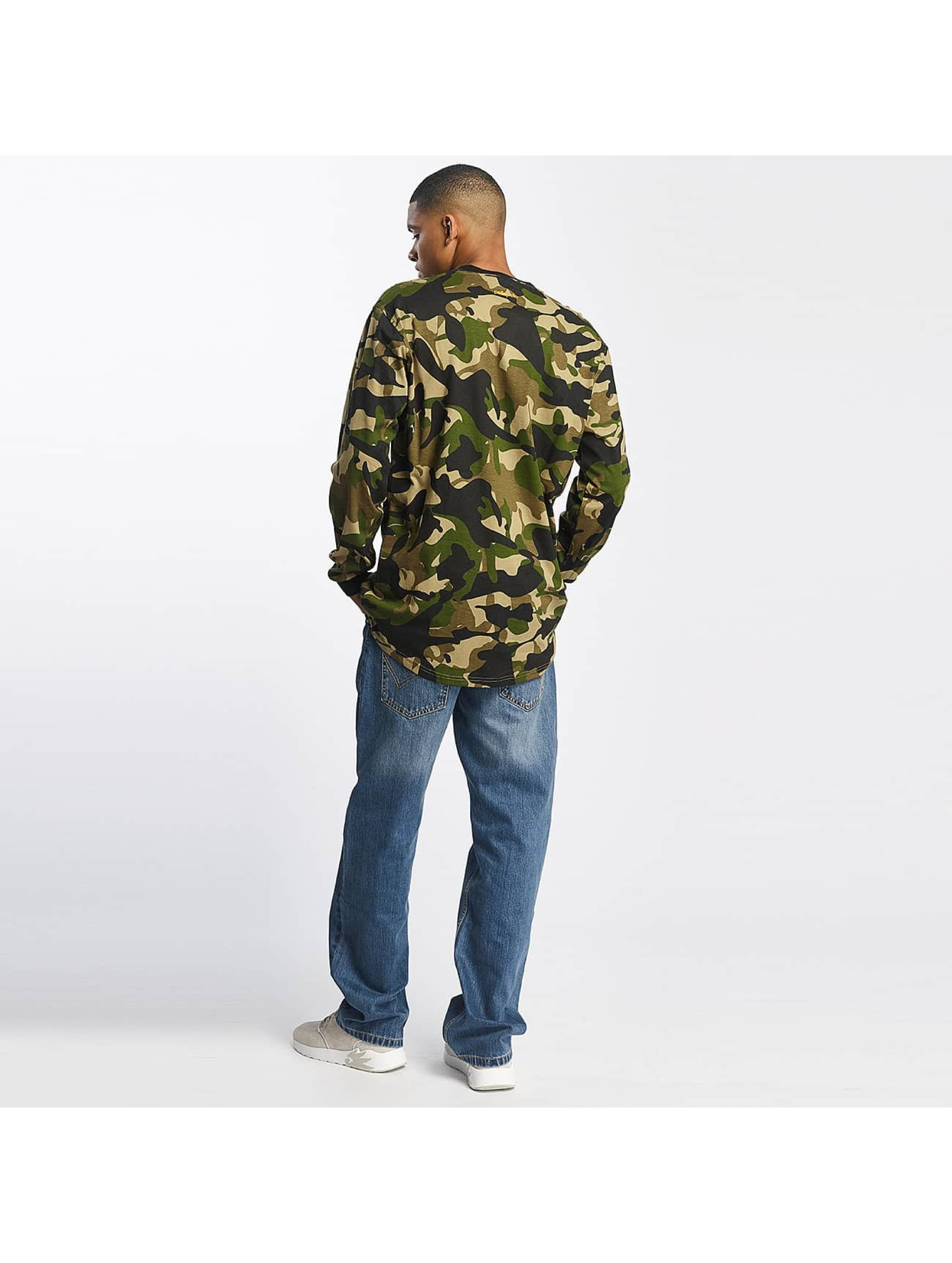 pelle pelle herren longsleeve full camo in camouflage 391199. Black Bedroom Furniture Sets. Home Design Ideas