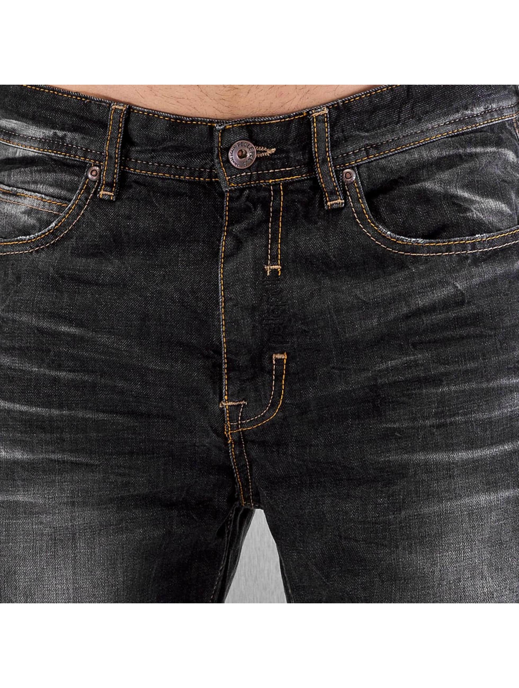 Pelle Pelle Loose Fit Jeans Baxter black