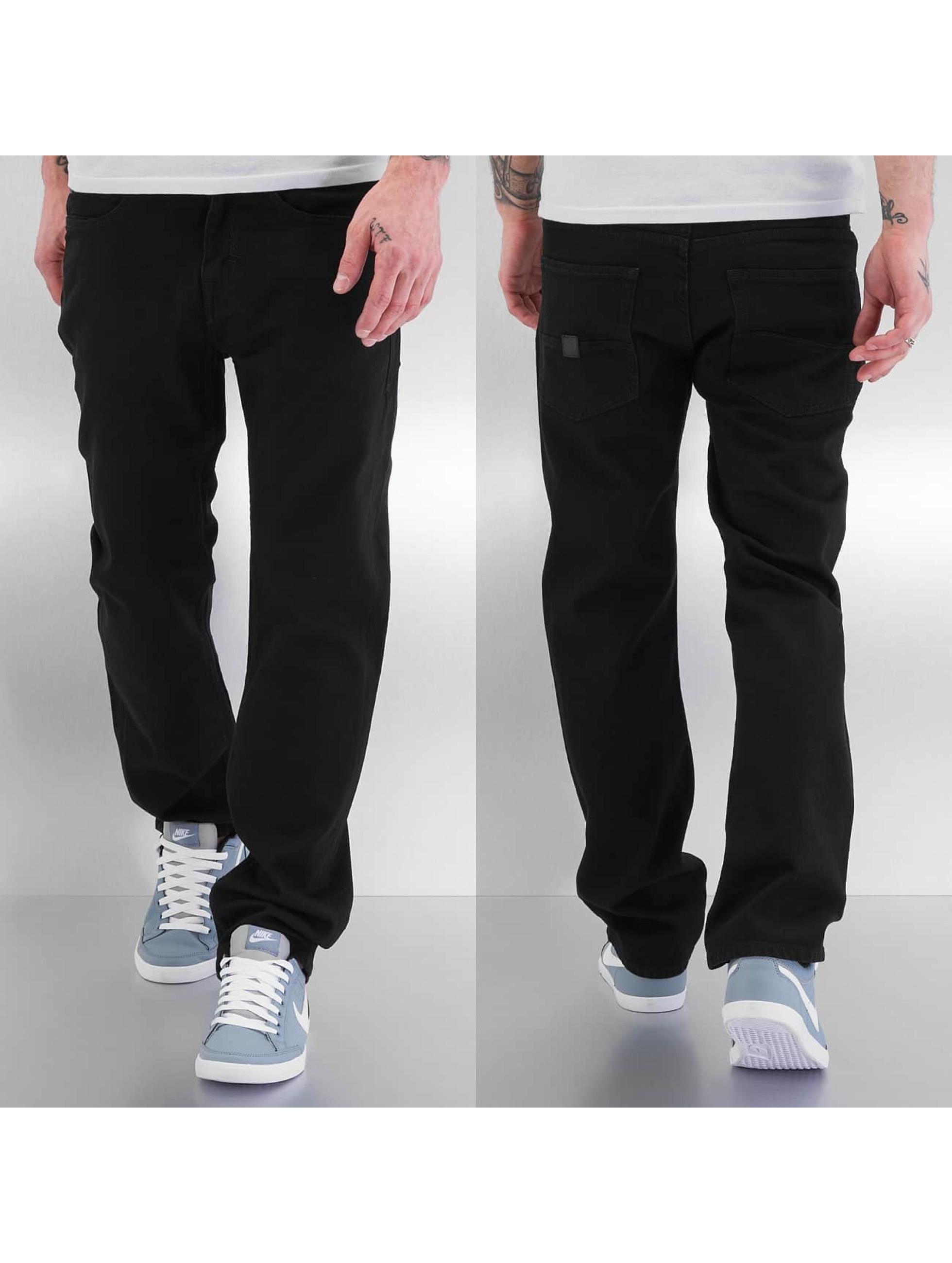Pelle Pelle Loose fit jeans Baxter Denim zwart