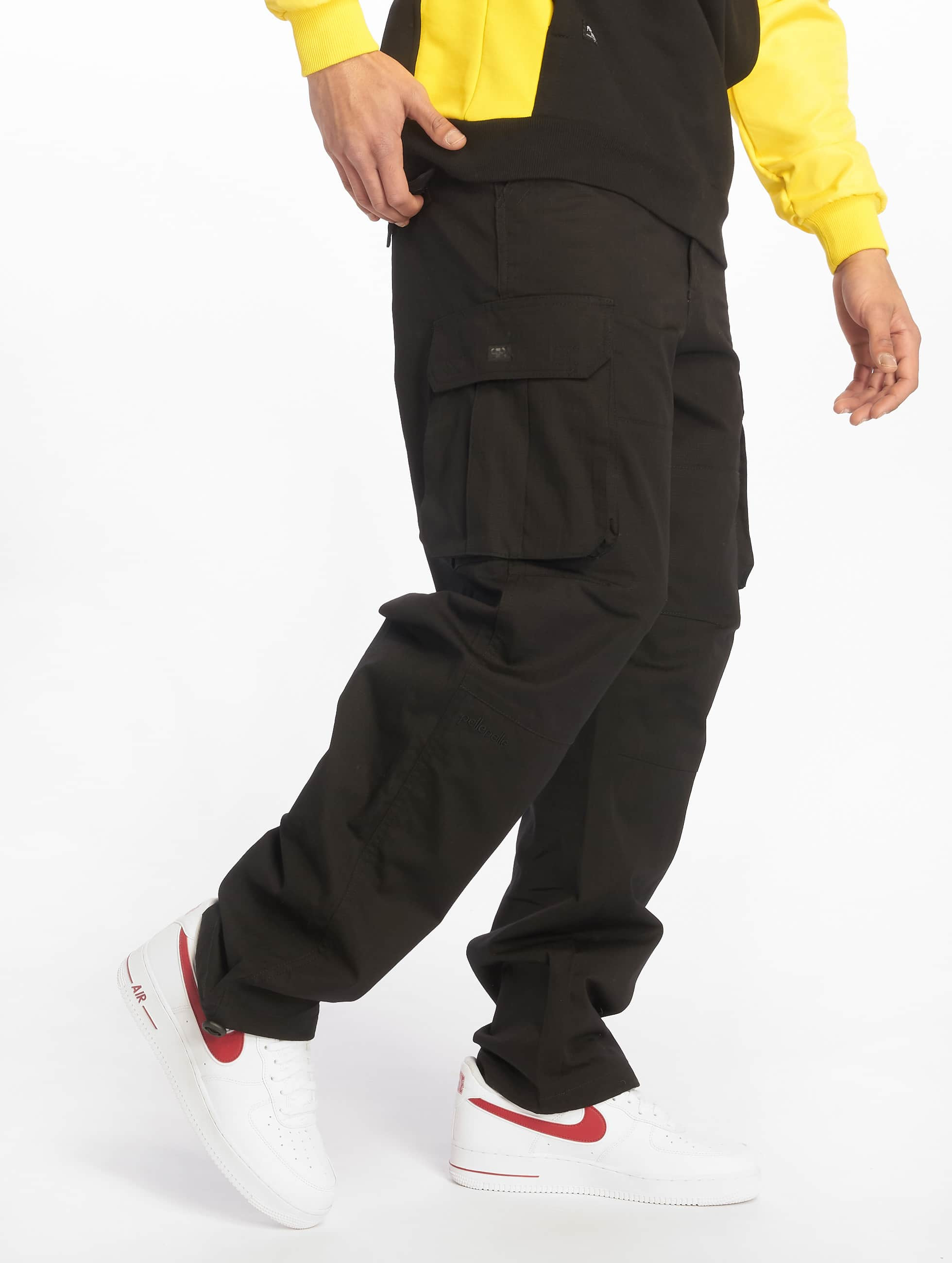 best place super popular latest Pelle Pelle Basic Cargo Pants Black