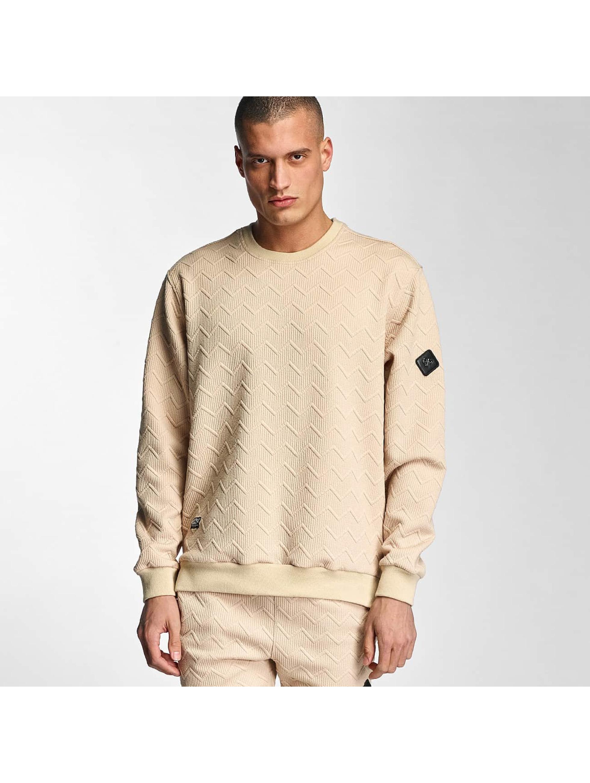 Pullover Zig Zag Icon in beige