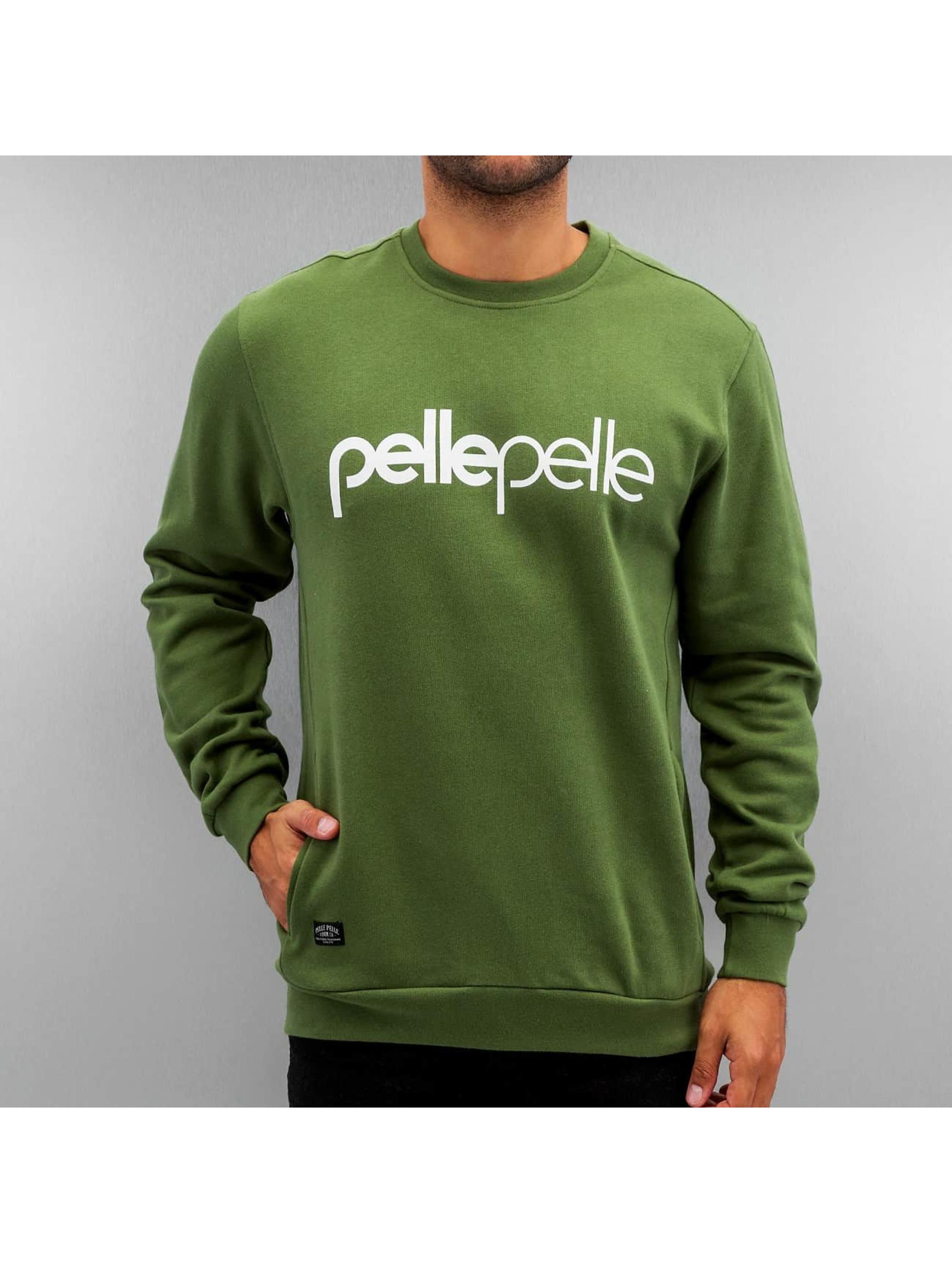 Pelle Pelle Pullover Back 2 The Basics grün