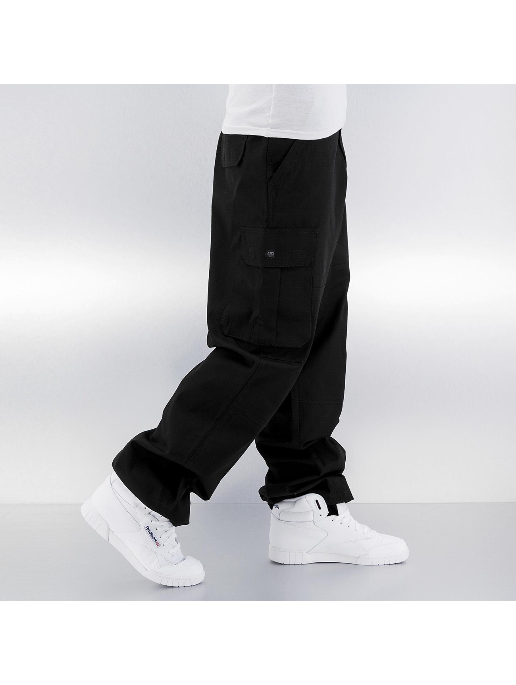 Pelle Pelle Reisitaskuhousut Basic musta