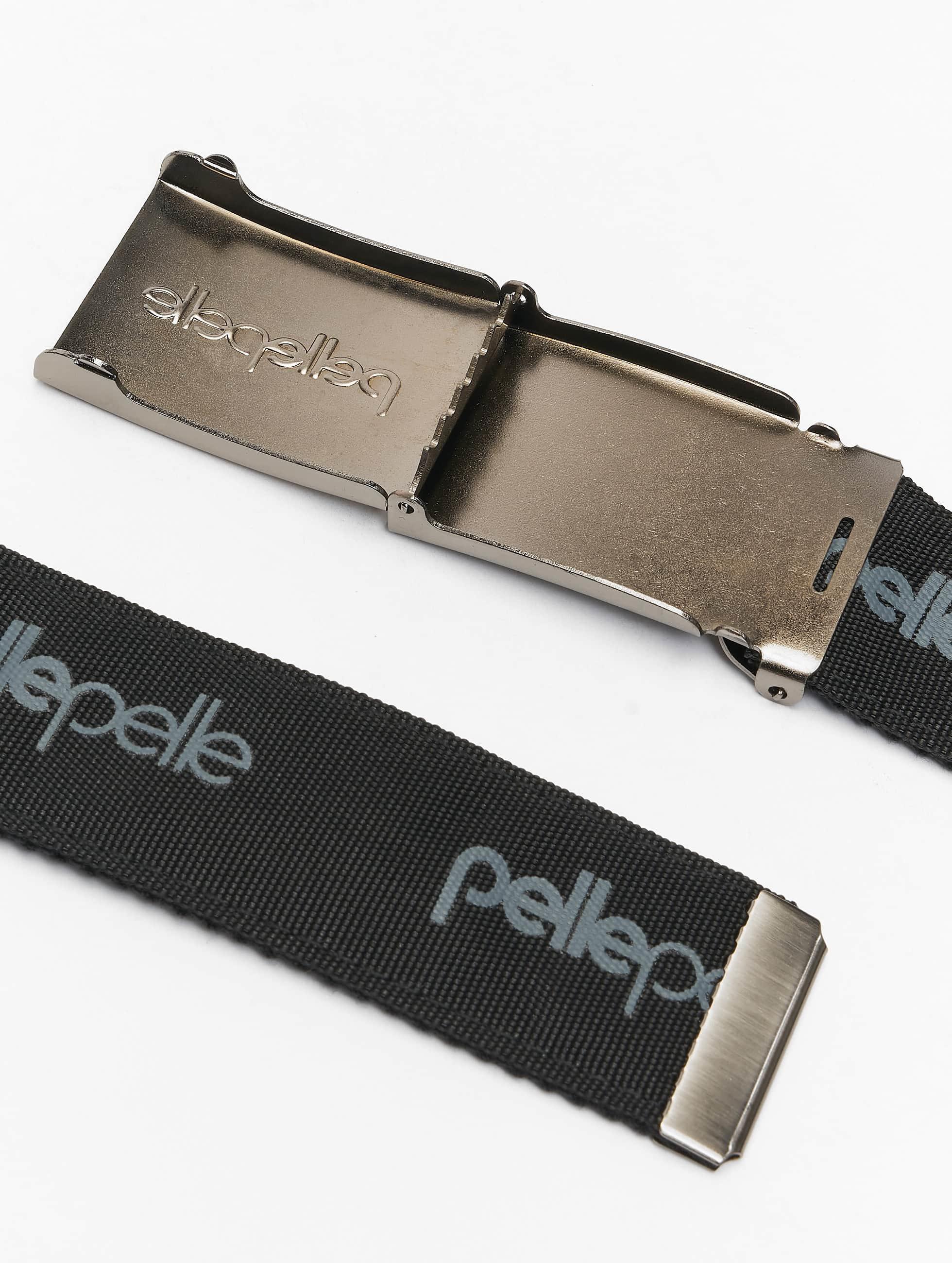 Pelle Pelle riem Core Army zwart