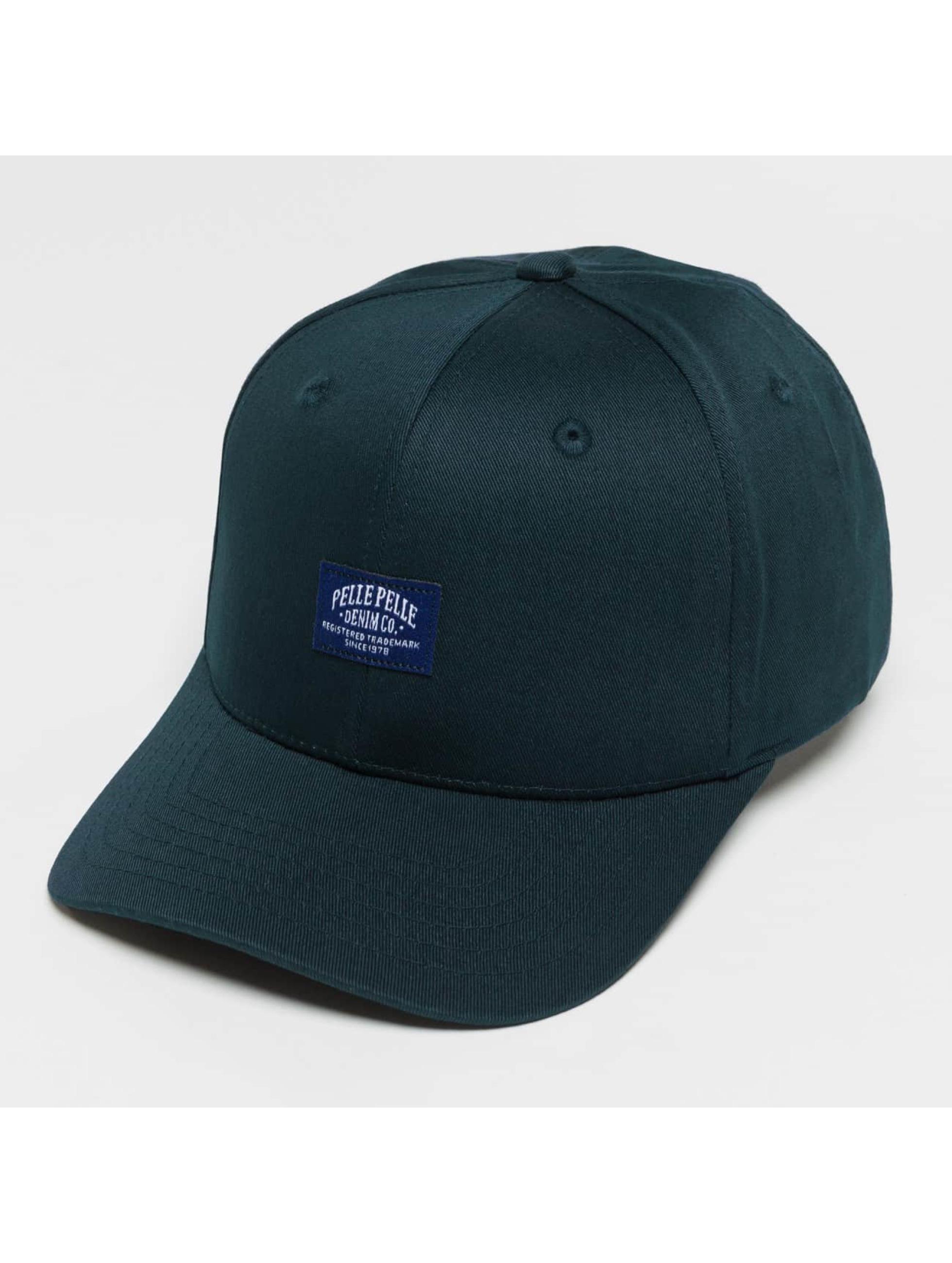 Pelle Pelle Snapback Caps Core Label niebieski