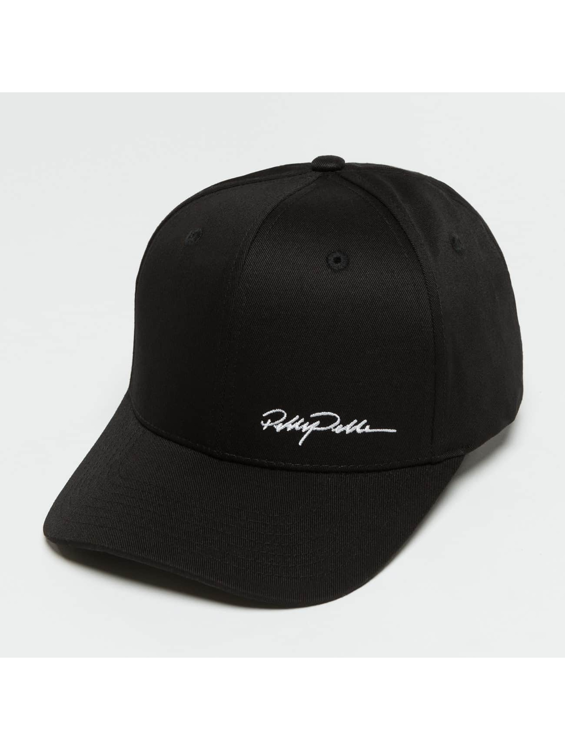Pelle Pelle Snapback Caps Signature svart