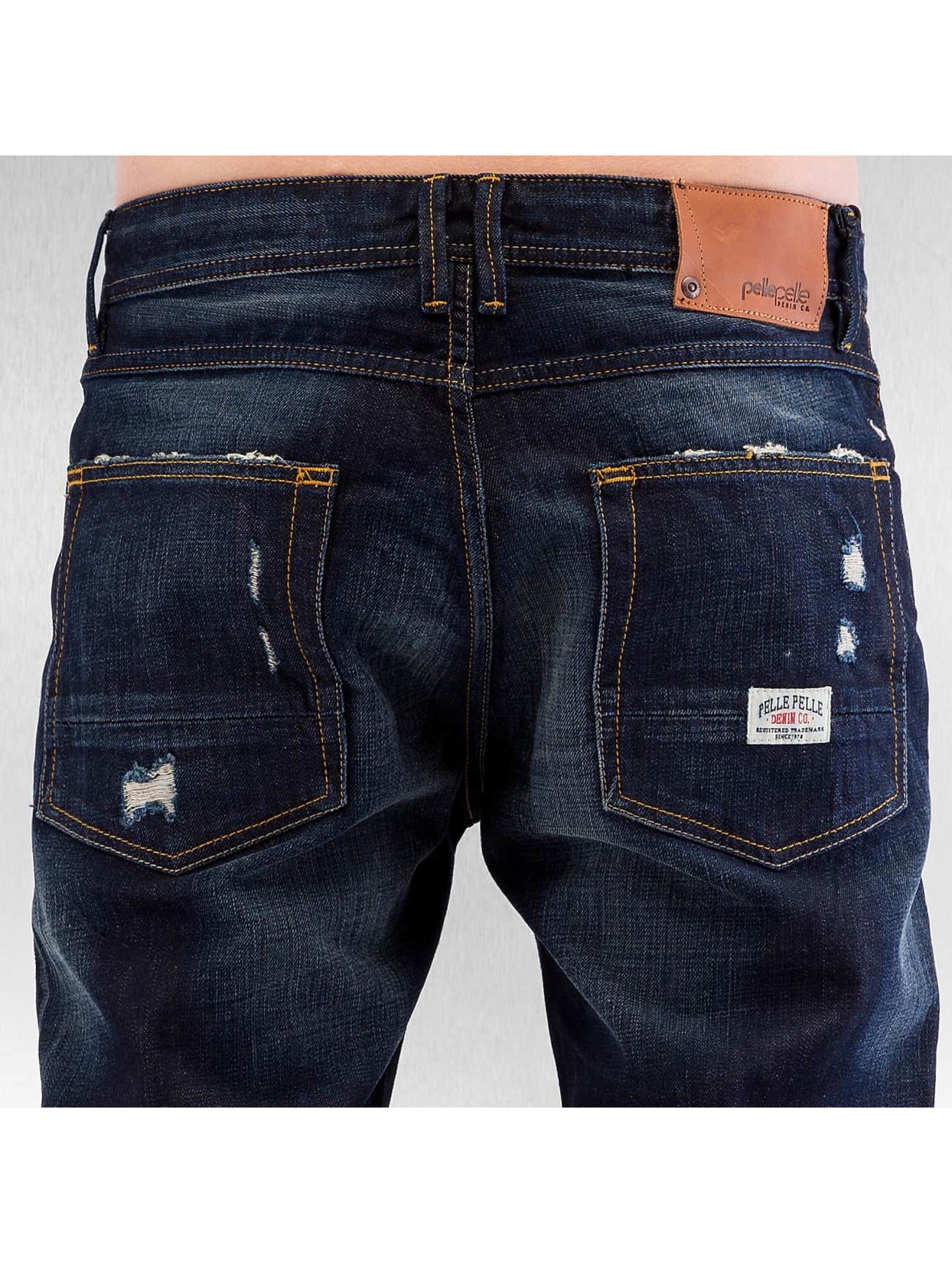Pelle Pelle Straight fit jeans Scotty blauw