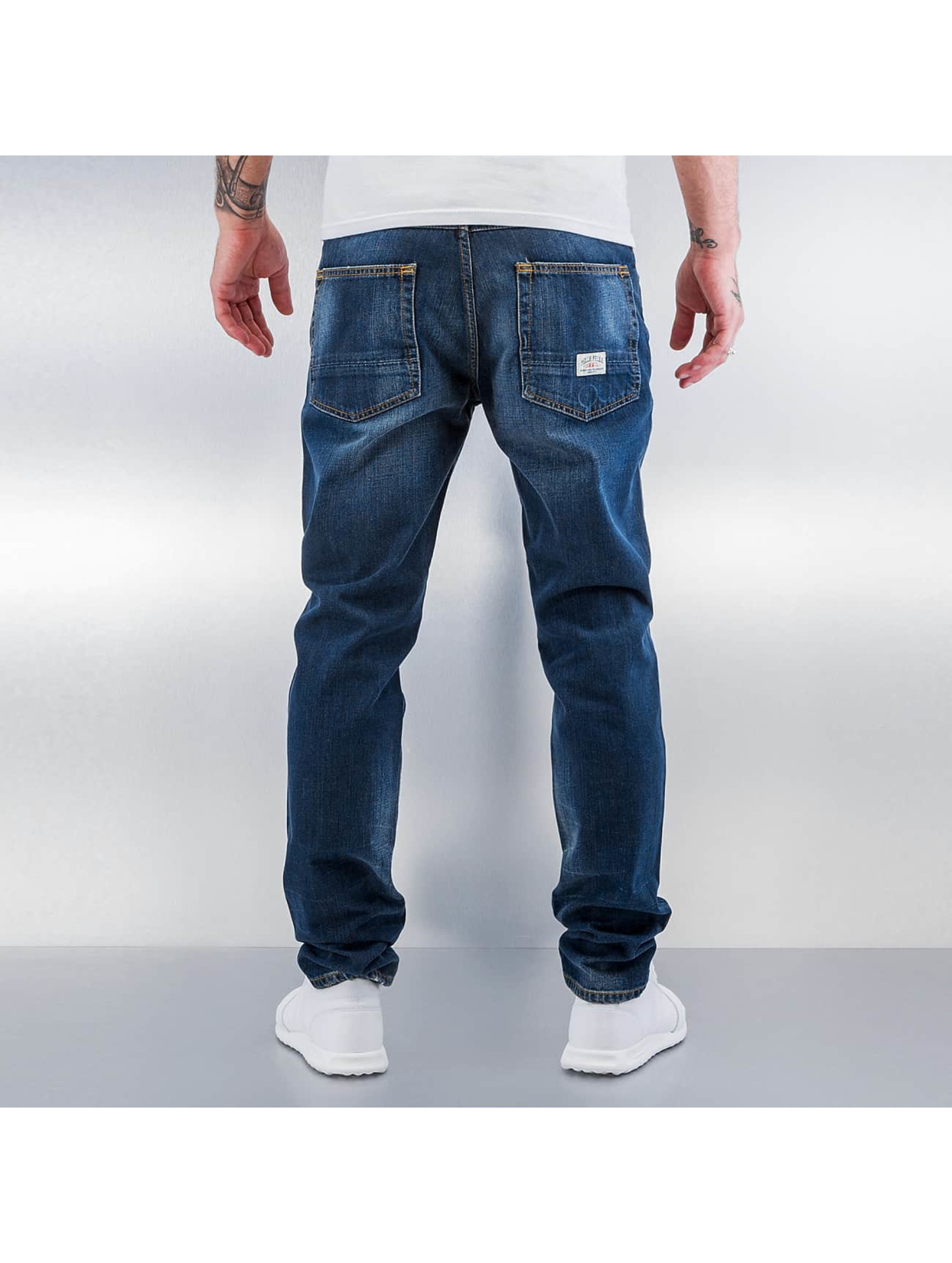 Pelle Pelle Straight fit jeans Scotty blauw