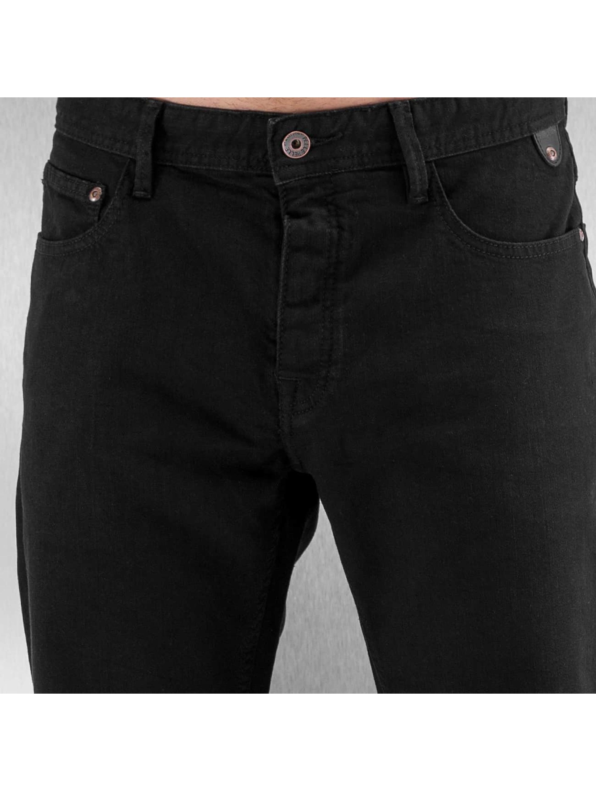 Pelle Pelle Straight Fit Jeans Floyd Denim schwarz