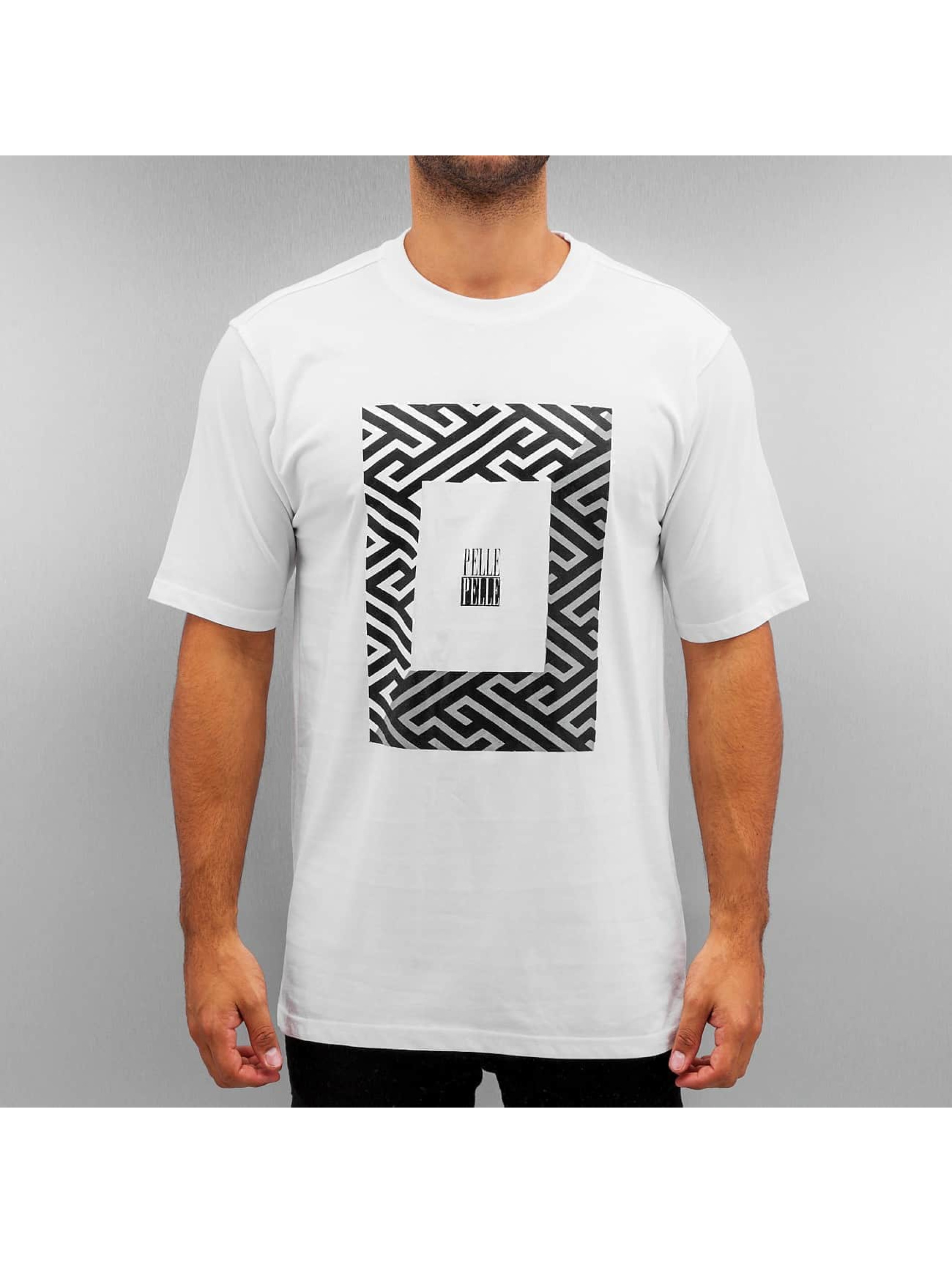 Pelle Pelle T-Shirt 50/50 Dark Maze blanc