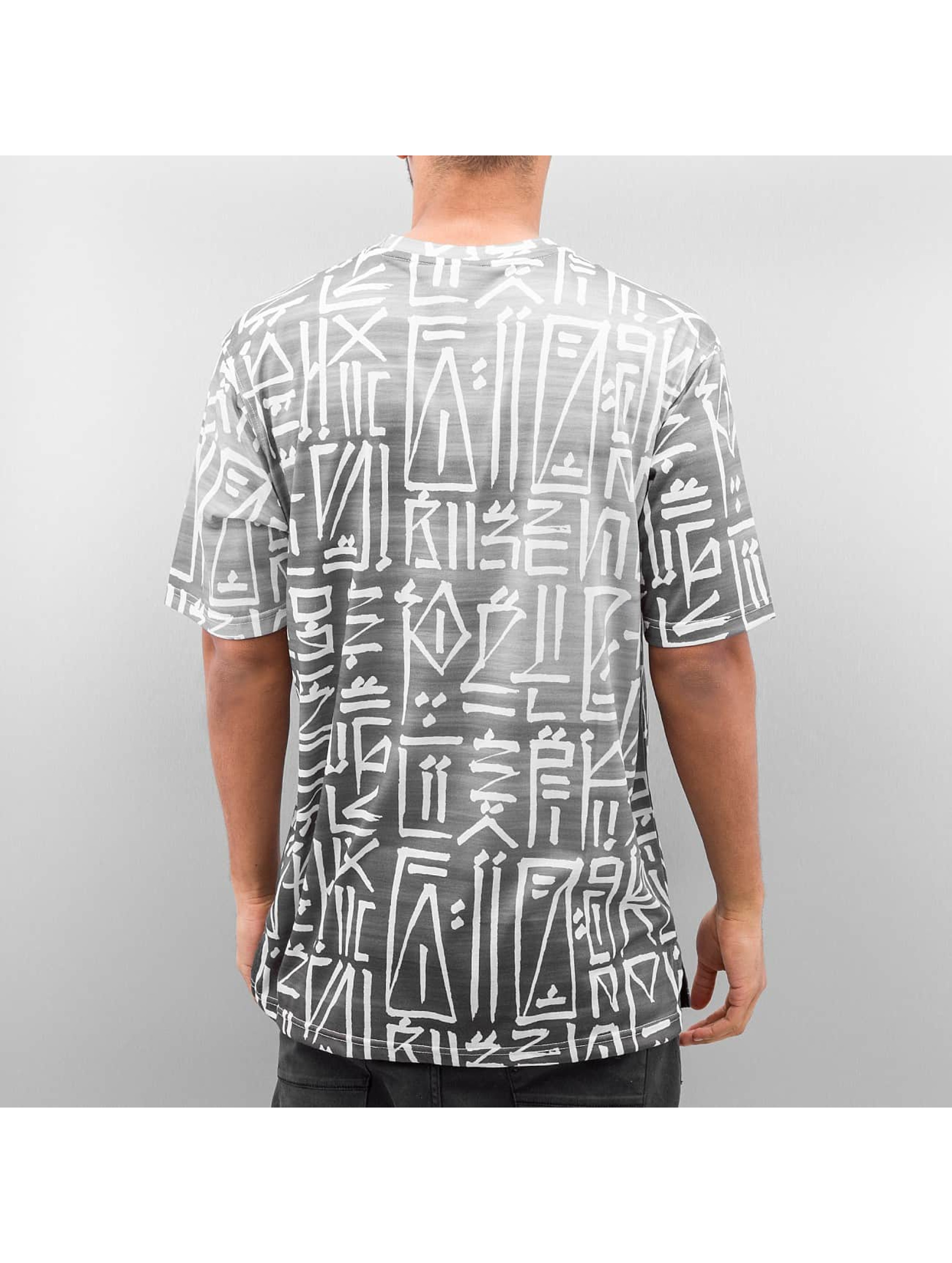 Pelle Pelle T-Shirt The Abstract gris