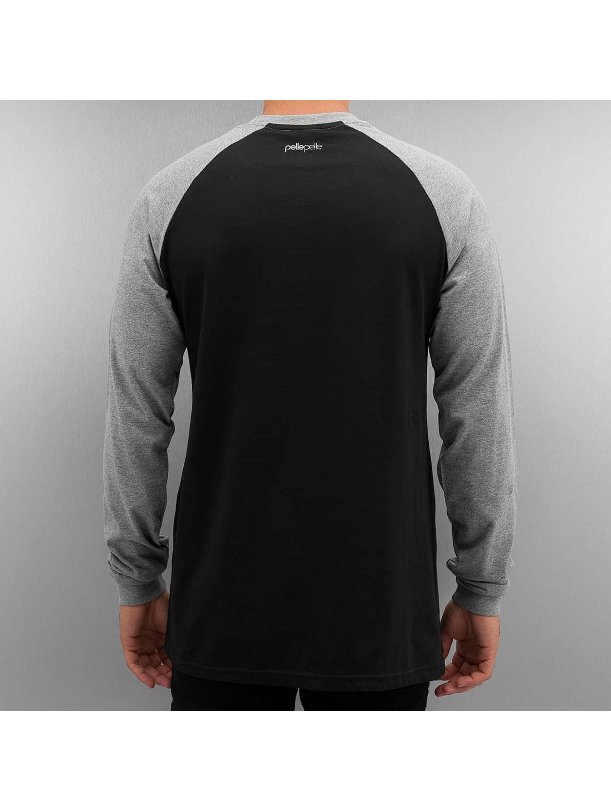 Pelle Pelle T-Shirt manches longues Heavy Hitters gris