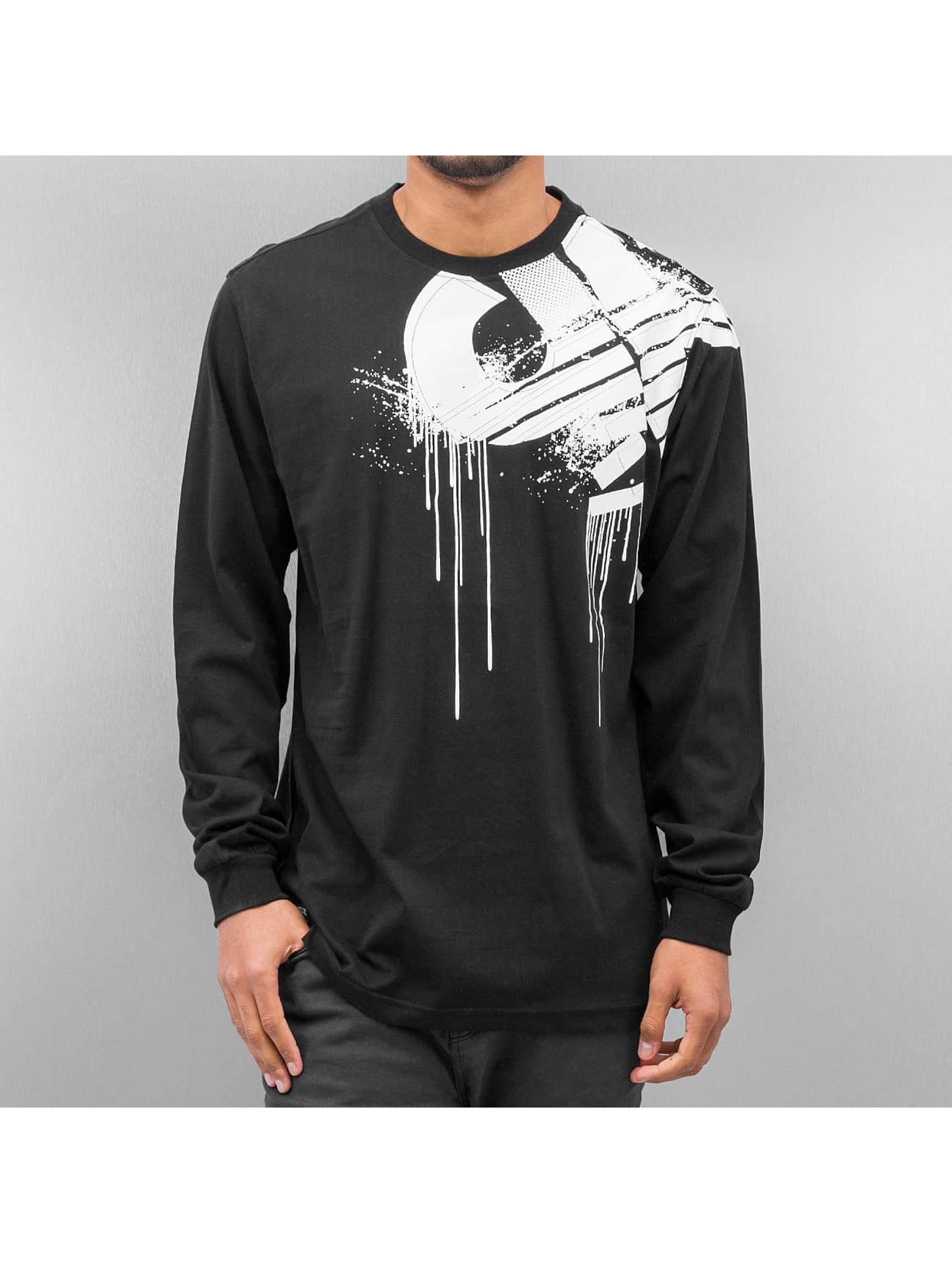 Pelle Pelle T-Shirt manches longues Demolition noir