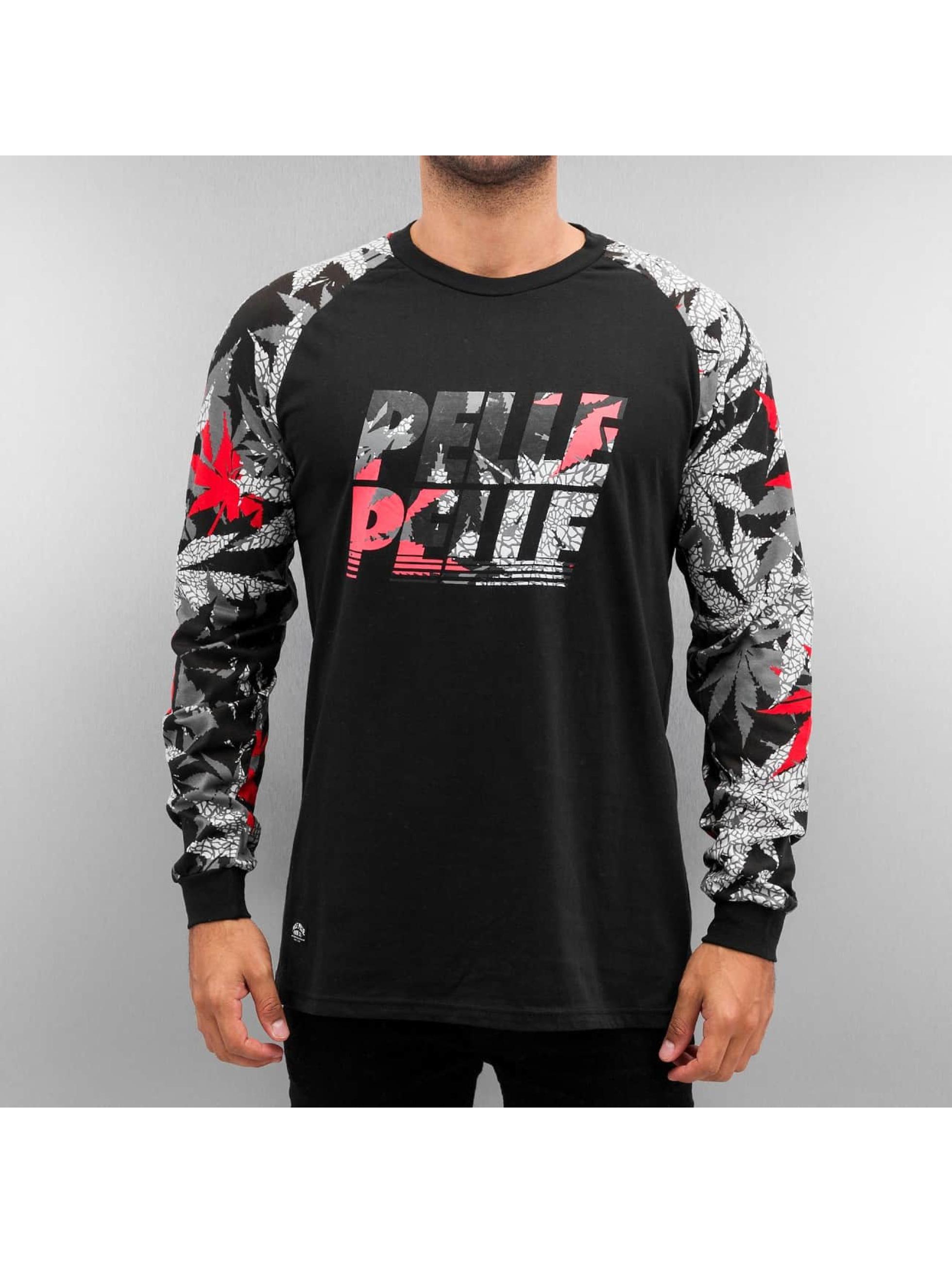 Pelle Pelle T-Shirt manches longues Highliner noir