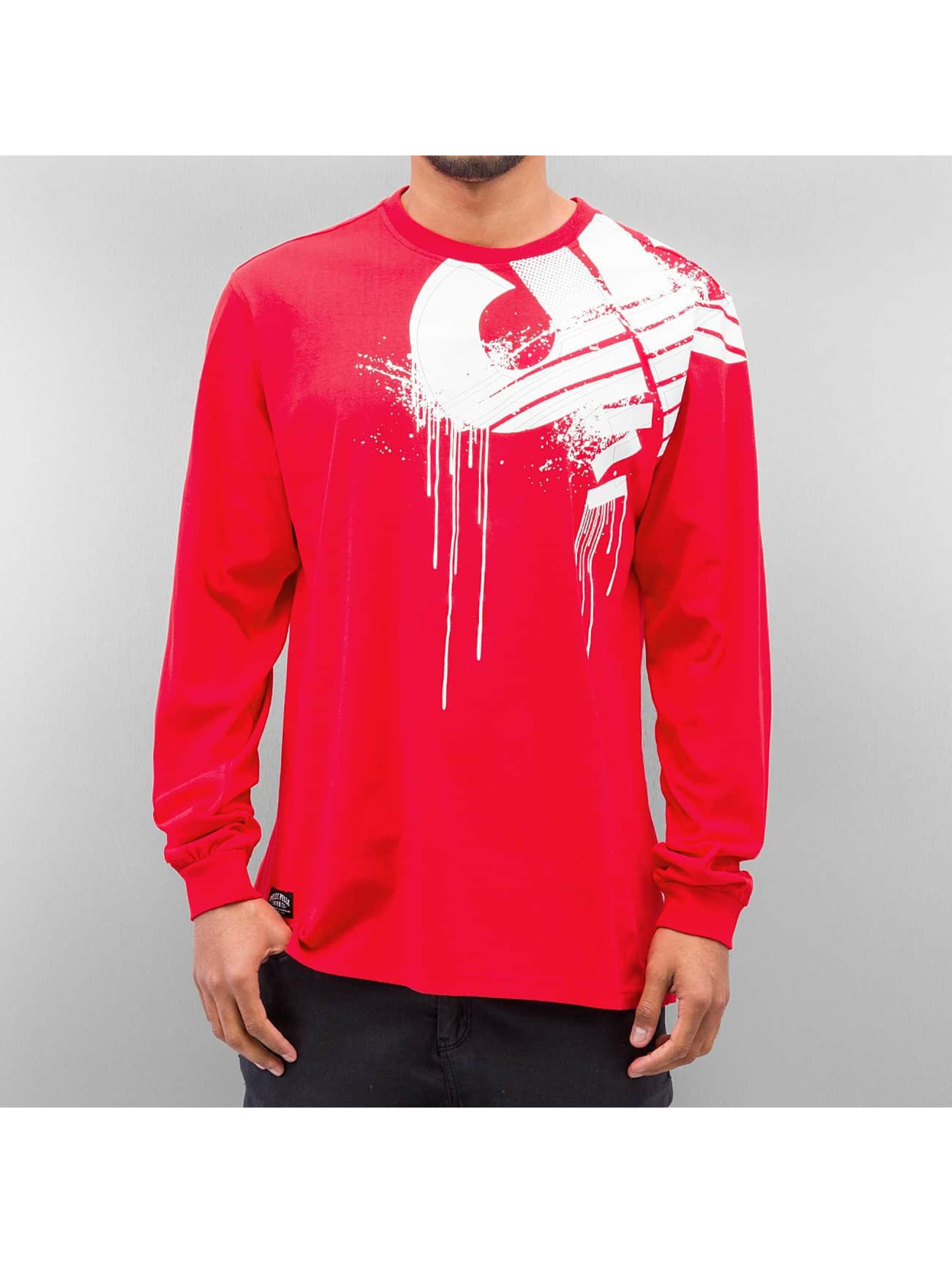 Pelle Pelle T-Shirt manches longues Demolition rouge