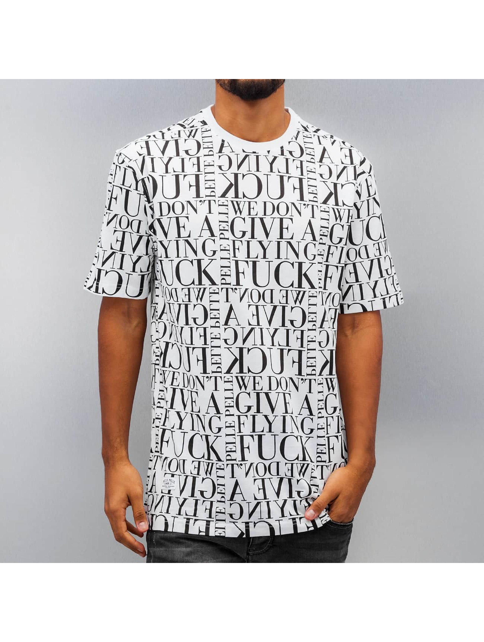 Pelle Pelle T-shirt We Don't Give A * vit