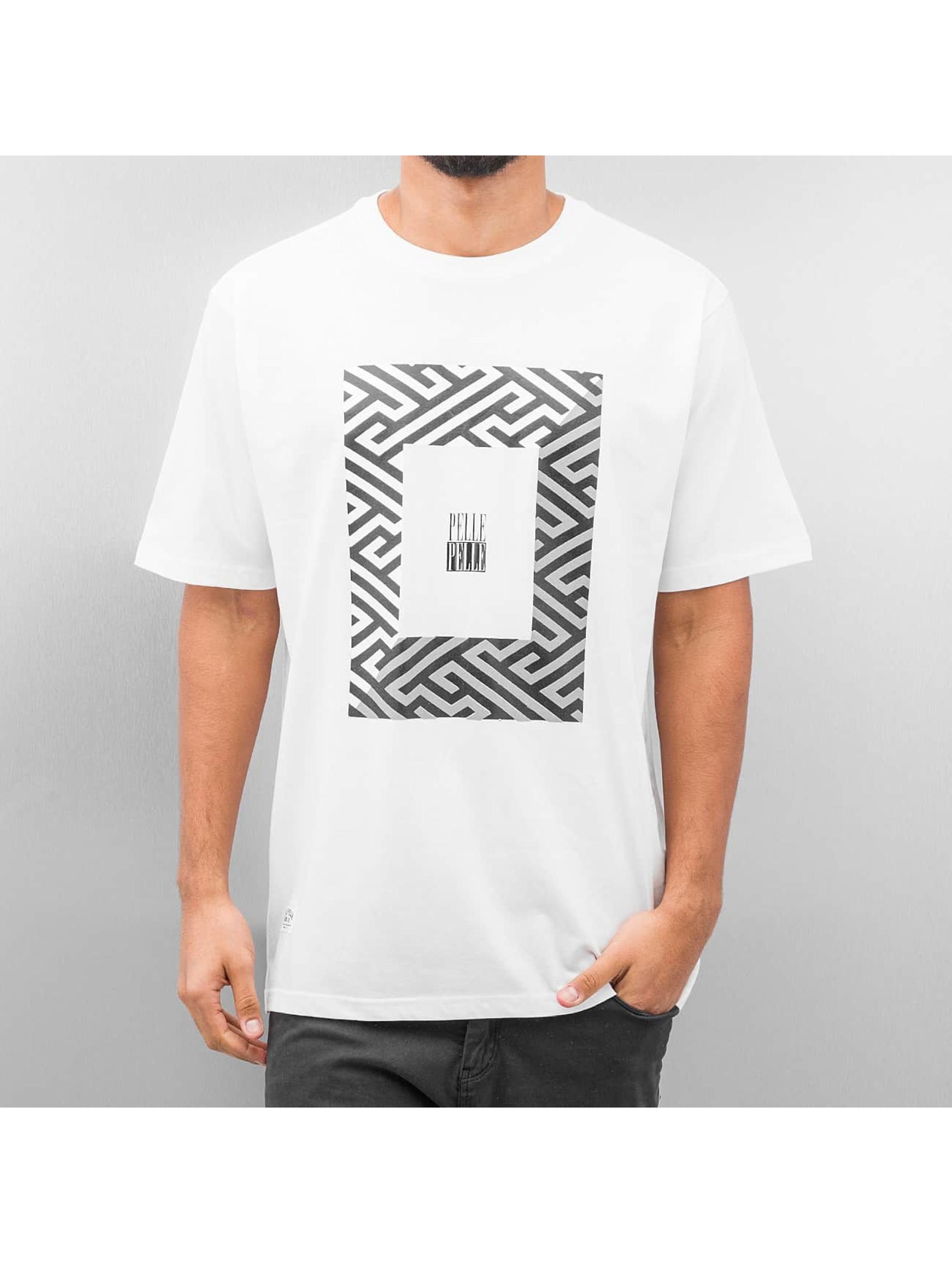 Pelle Pelle T-Shirt Dark Maze weiß