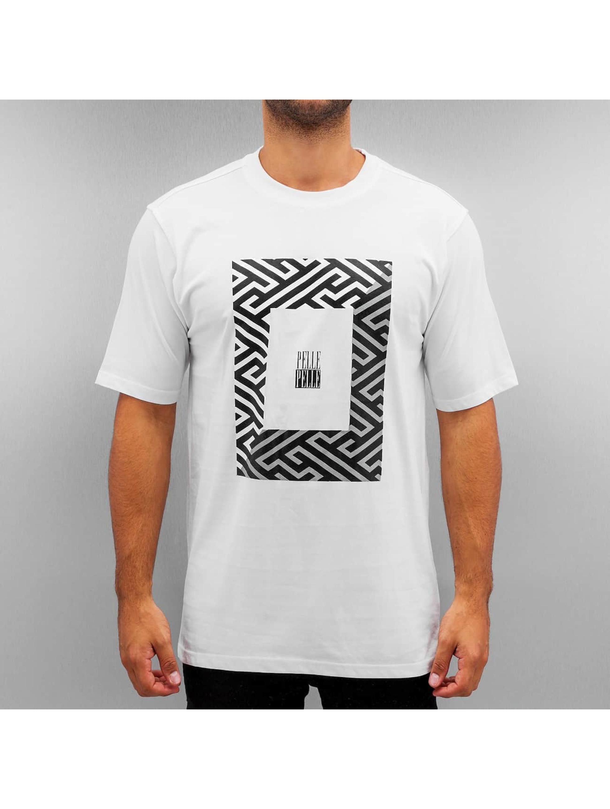 Pelle Pelle t-shirt 50/50 Dark Maze wit