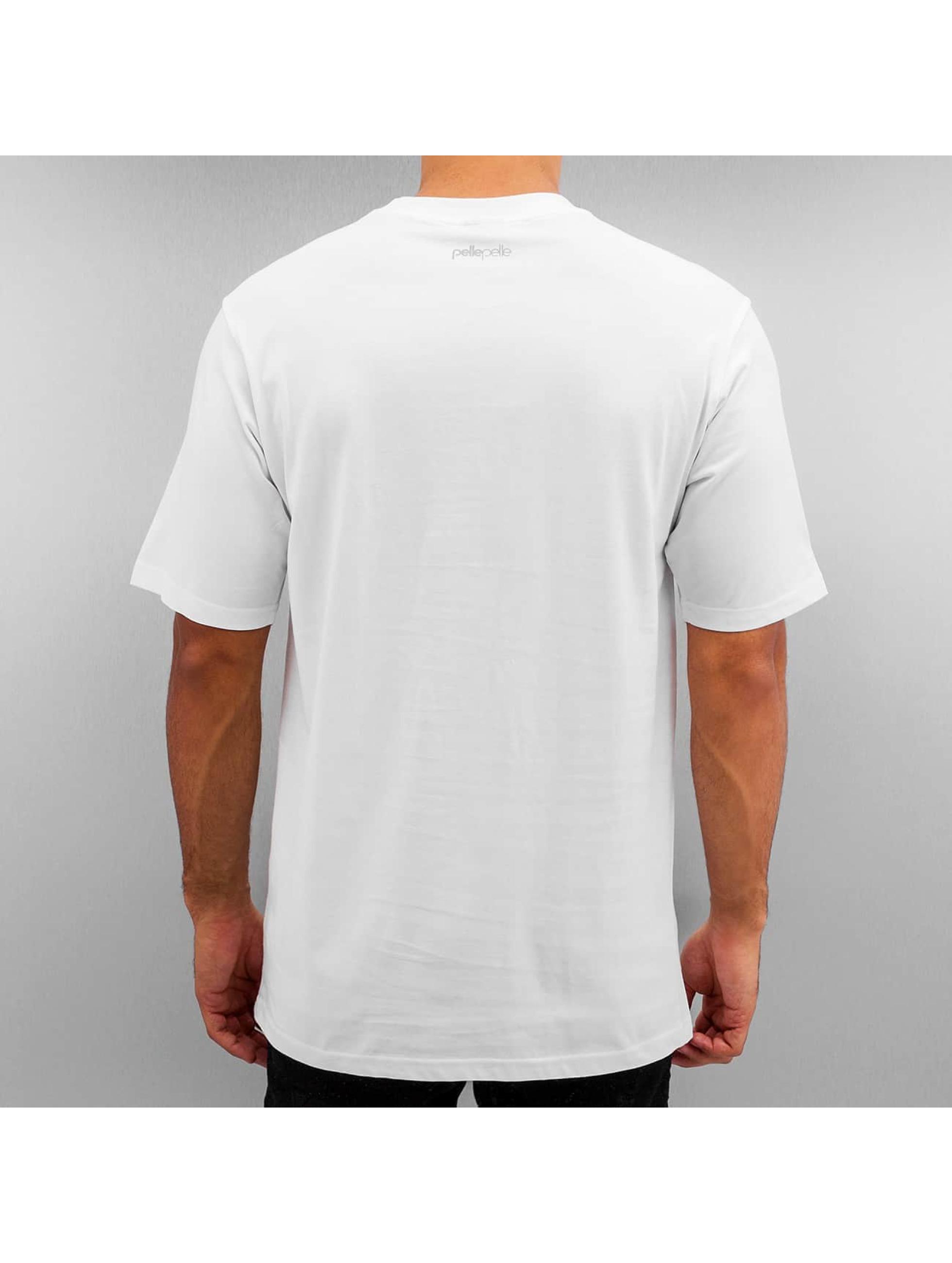 Pelle Pelle T-shirts 50/50 Dark Maze hvid
