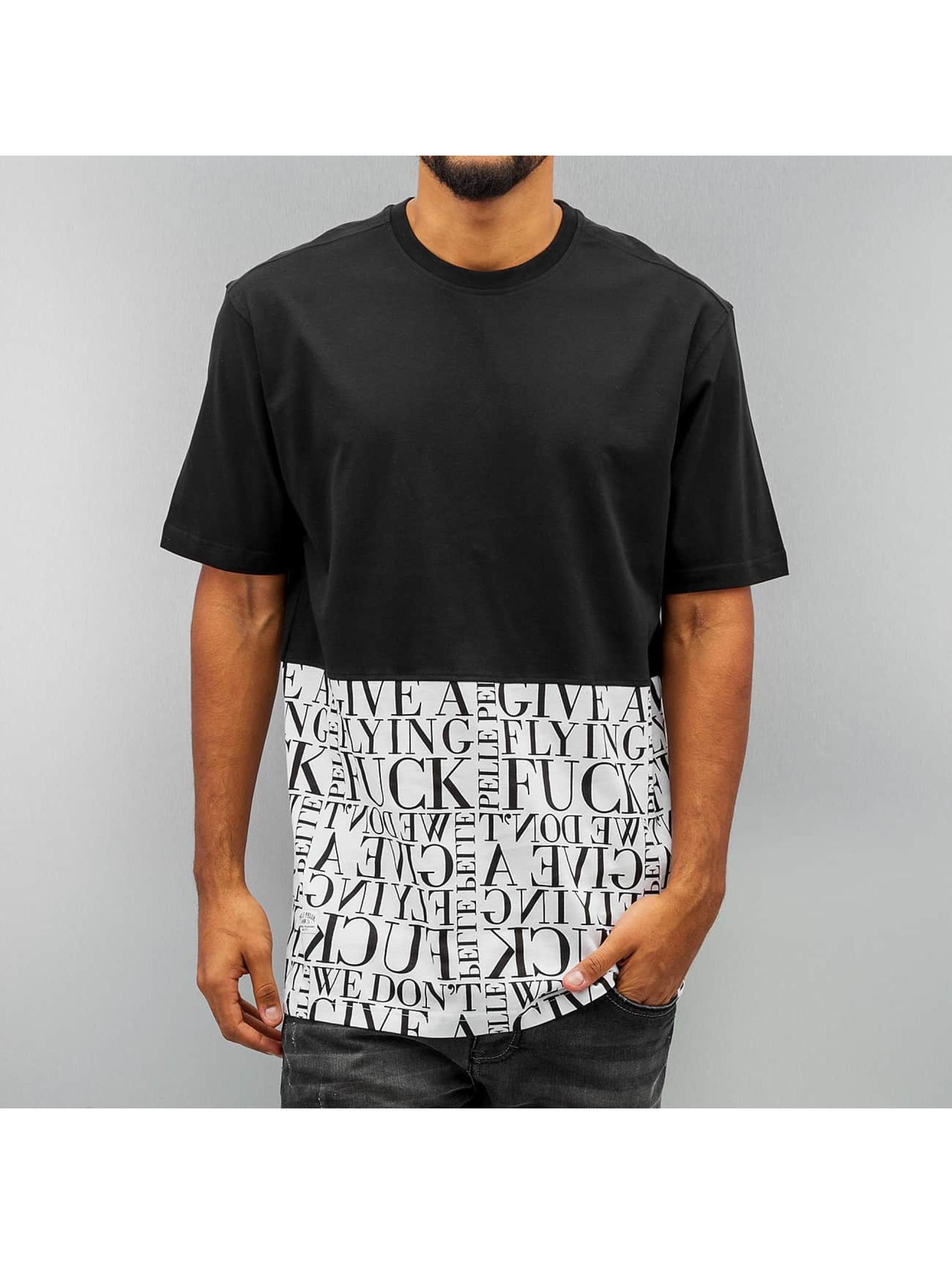 Pelle Pelle T-skjorter Half svart