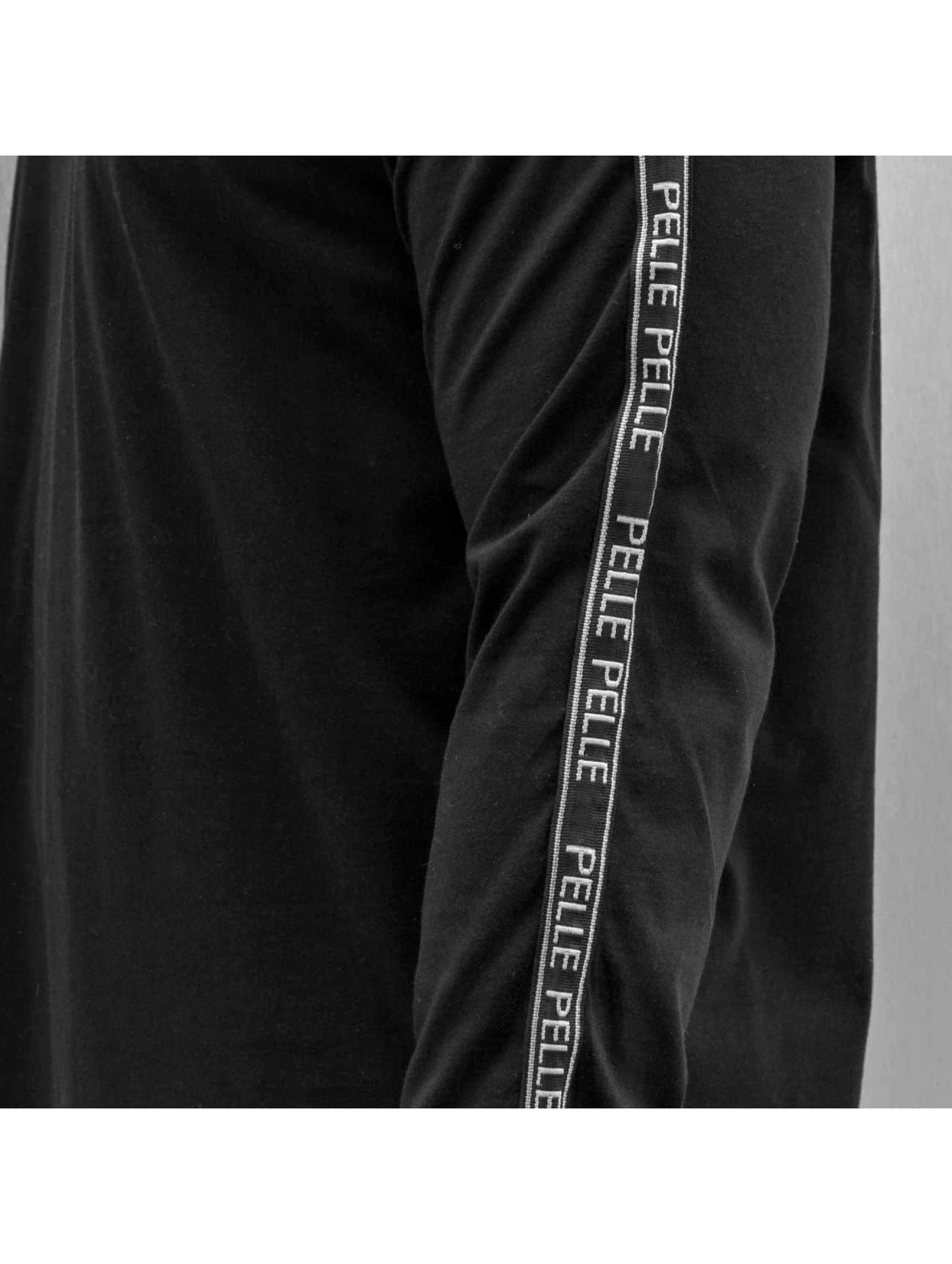 Pelle Pelle Tričká dlhý rukáv Tapemasters èierna
