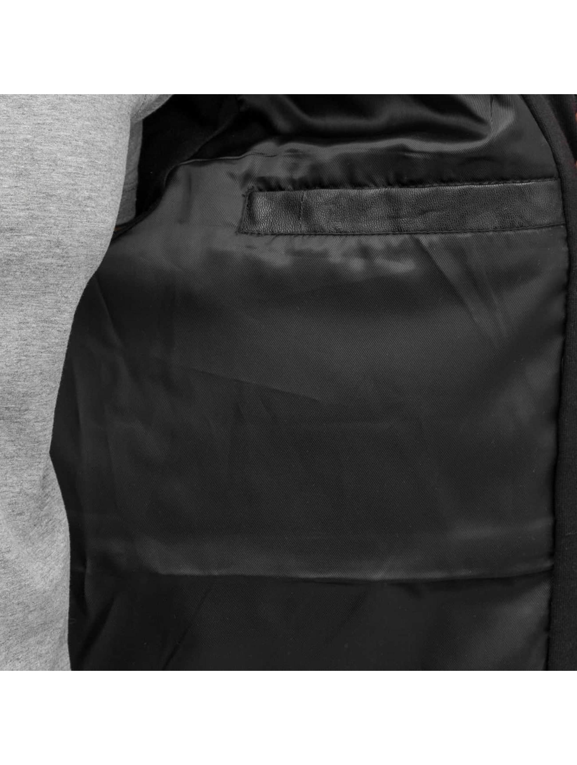 Pelle Pelle Übergangsjacke Mix-Up Hooded schwarz