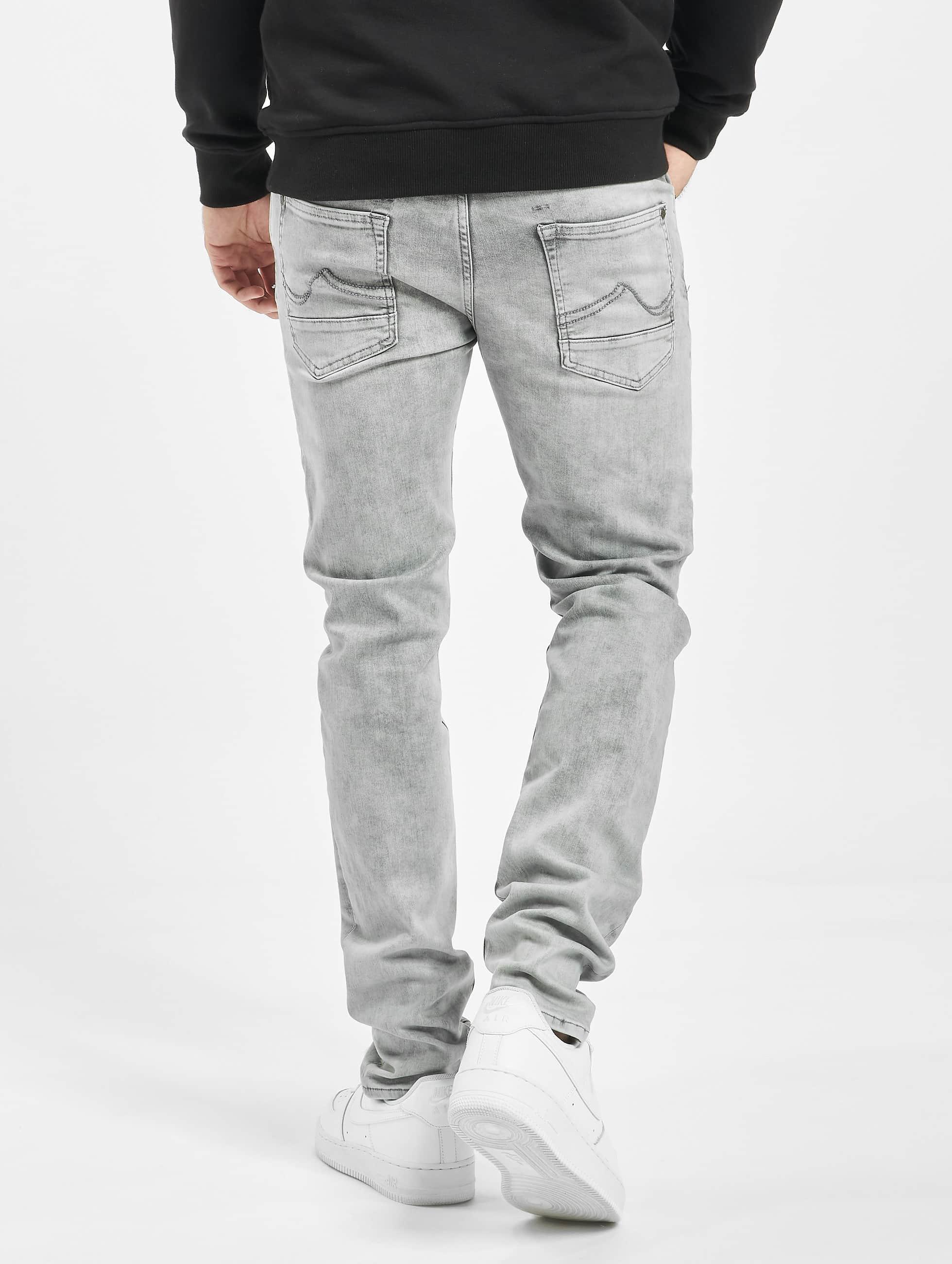 Petrol Industries Облегающие джинсы Seaham серый