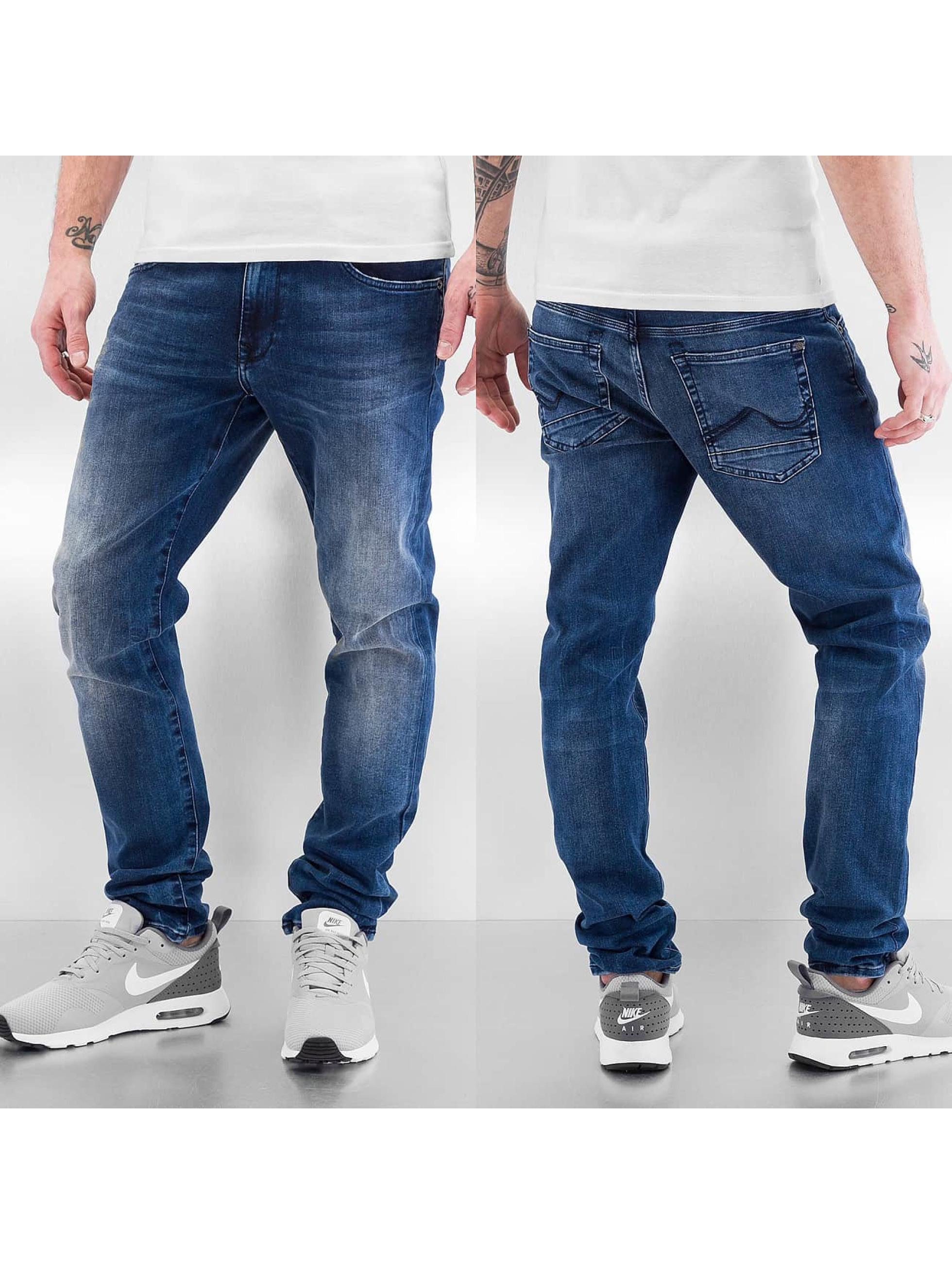 Petrol Industries Облегающие джинсы Seaham синий