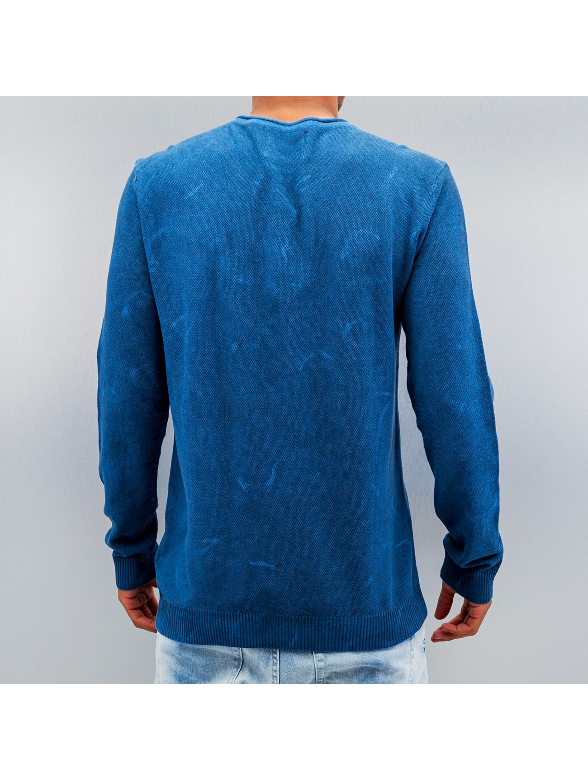 Petrol Industries Пуловер Pocket синий
