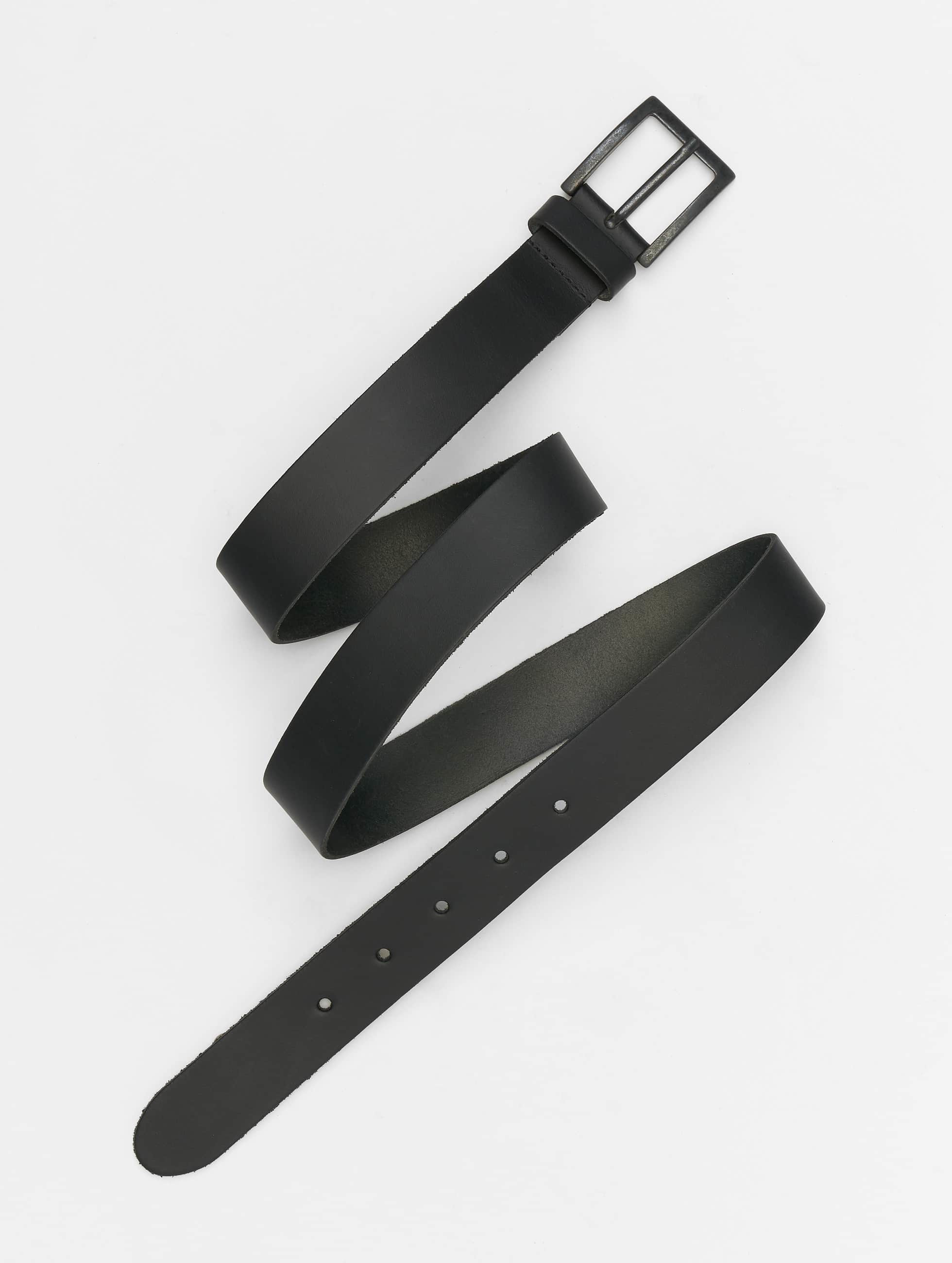 Petrol Industries Belts Leather svart