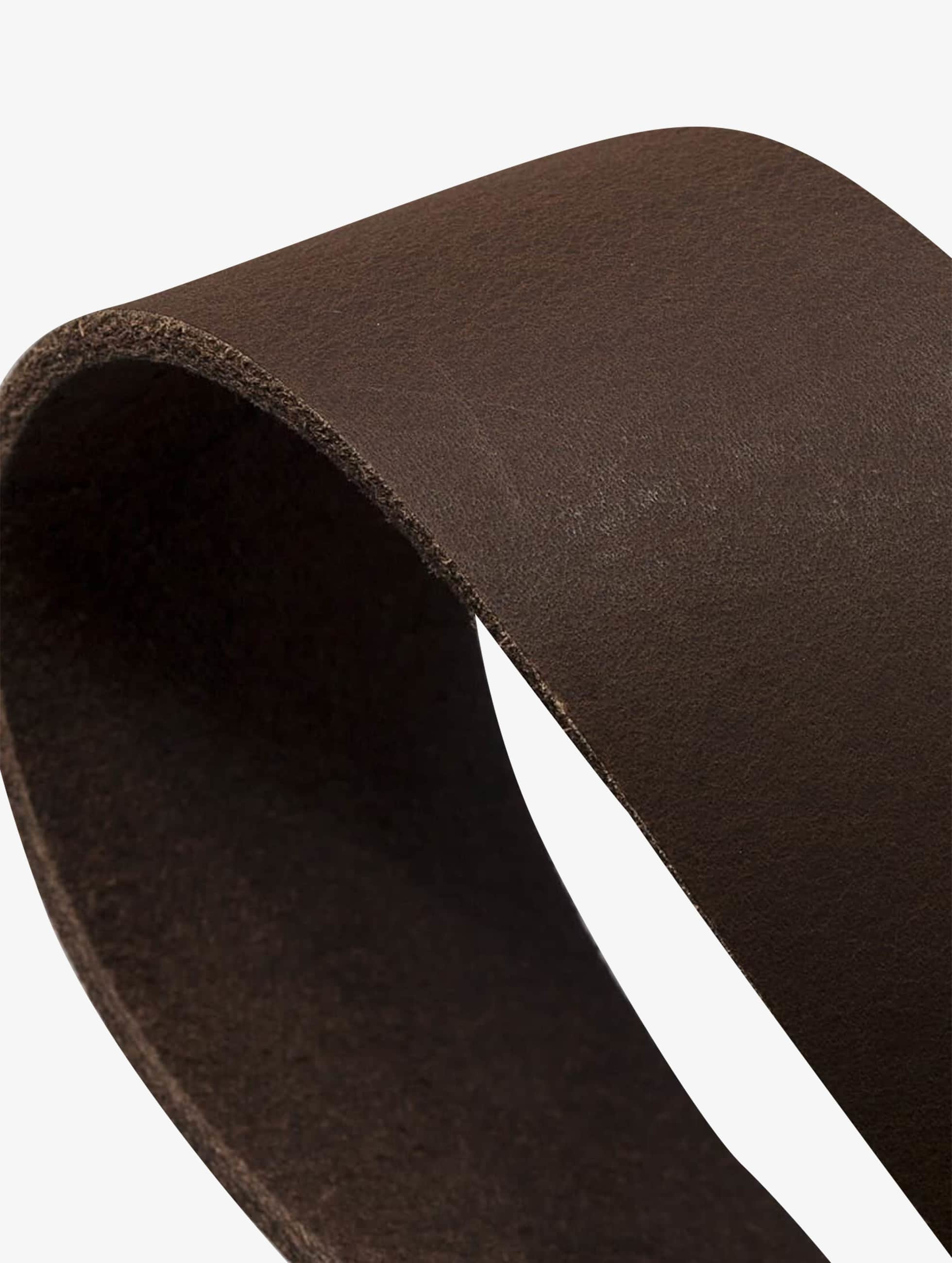 Petrol Industries Ceinture Leather brun