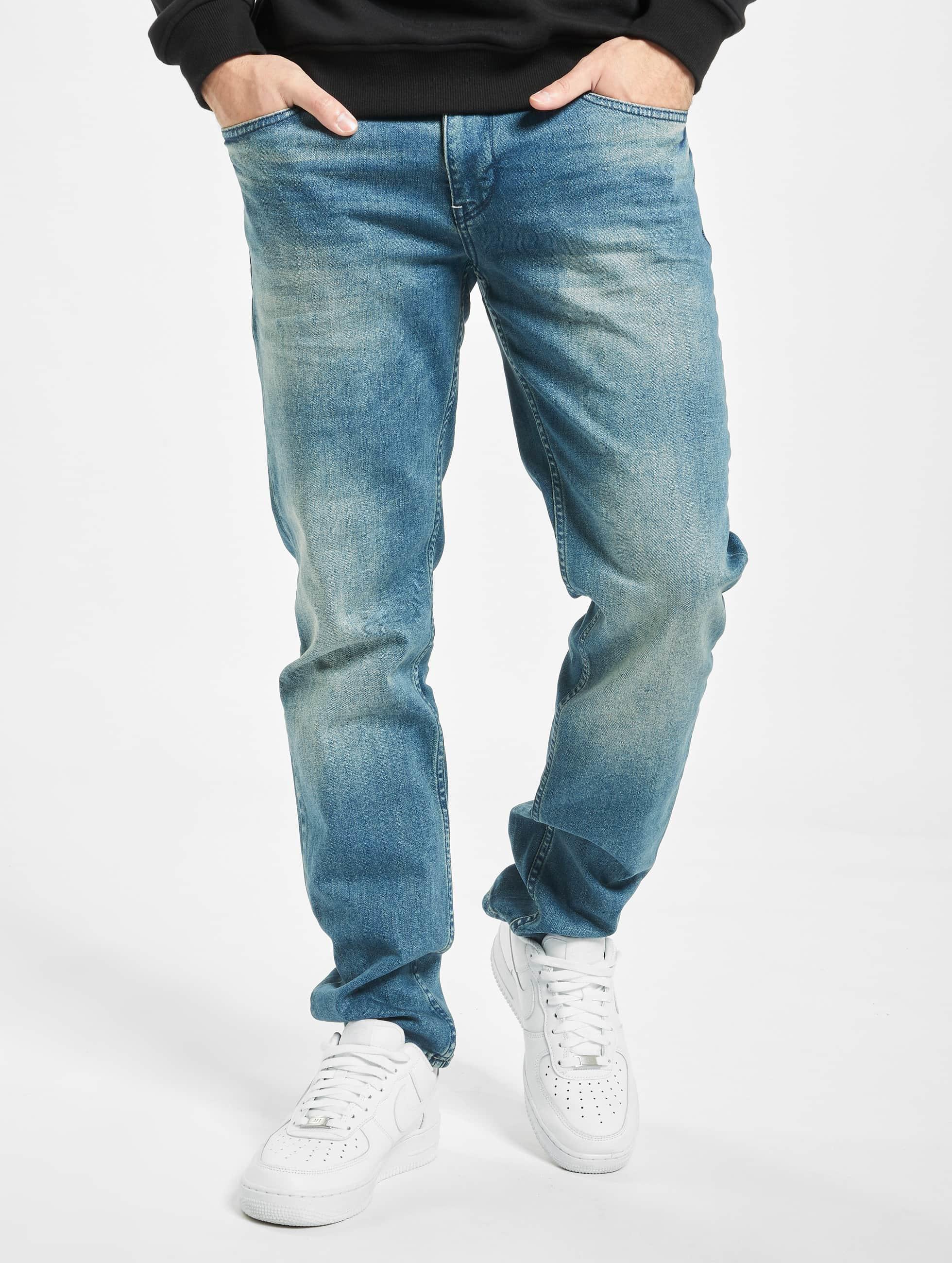 Petrol Industries Løstsittende bukser Tymore blå