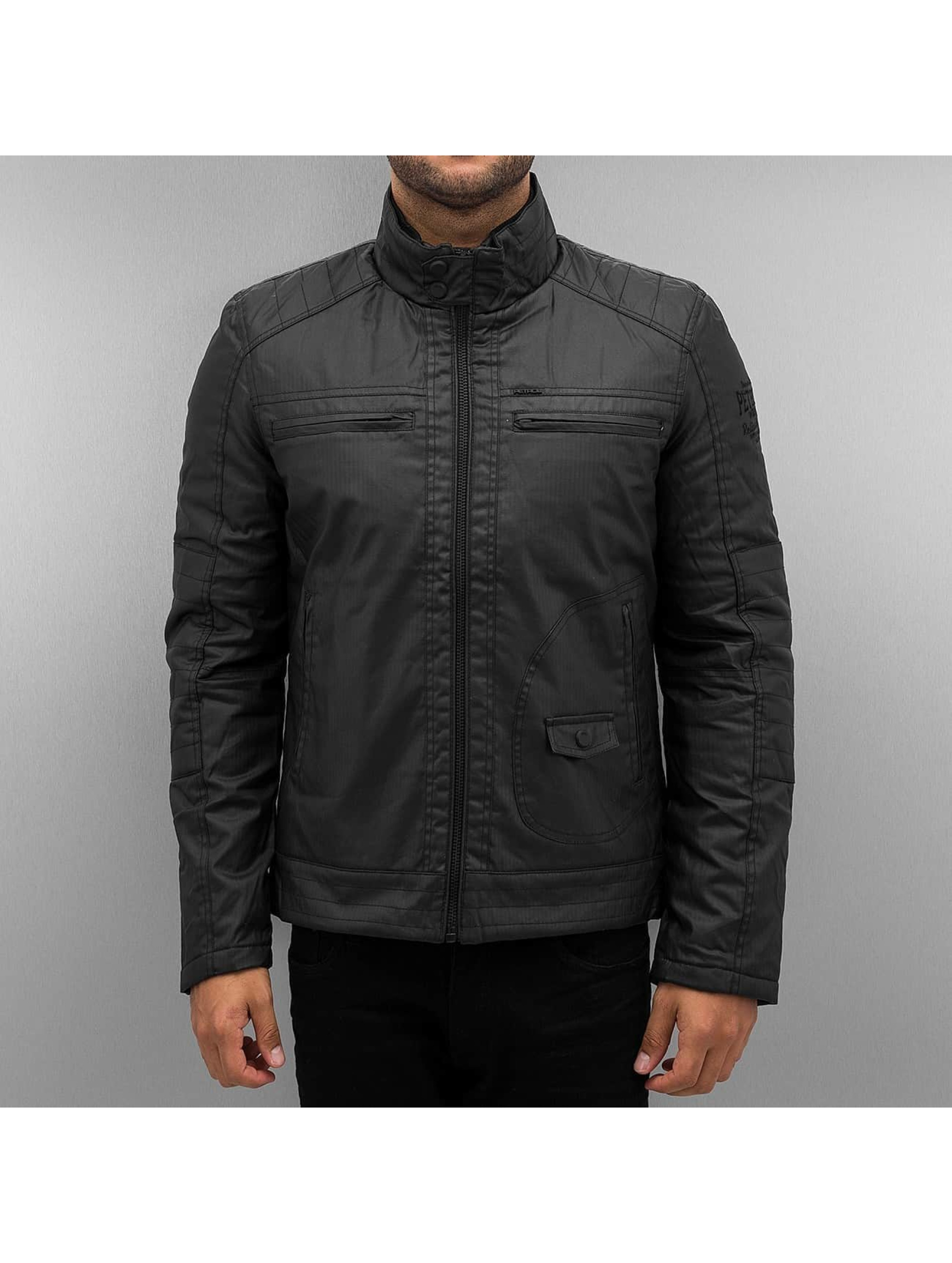 Petrol Industries Lightweight Jacket Reliable Goods black