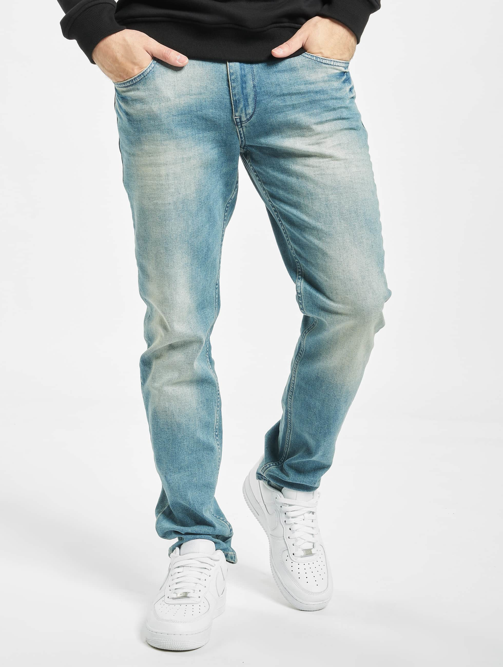 Petrol Industries heren loose fit jeans Tymore - blauw