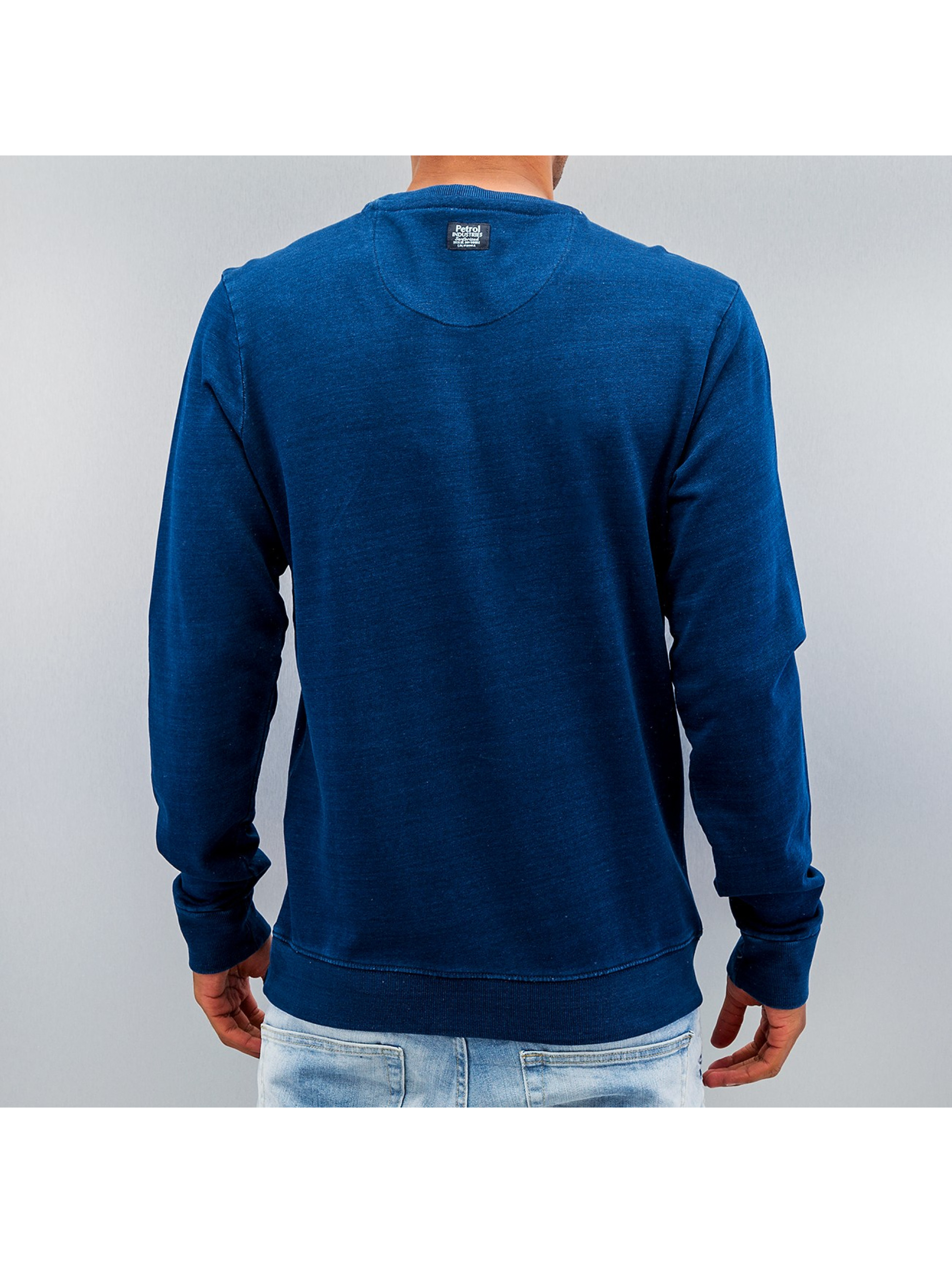 Petrol Industries Pullover Blue Denim blau