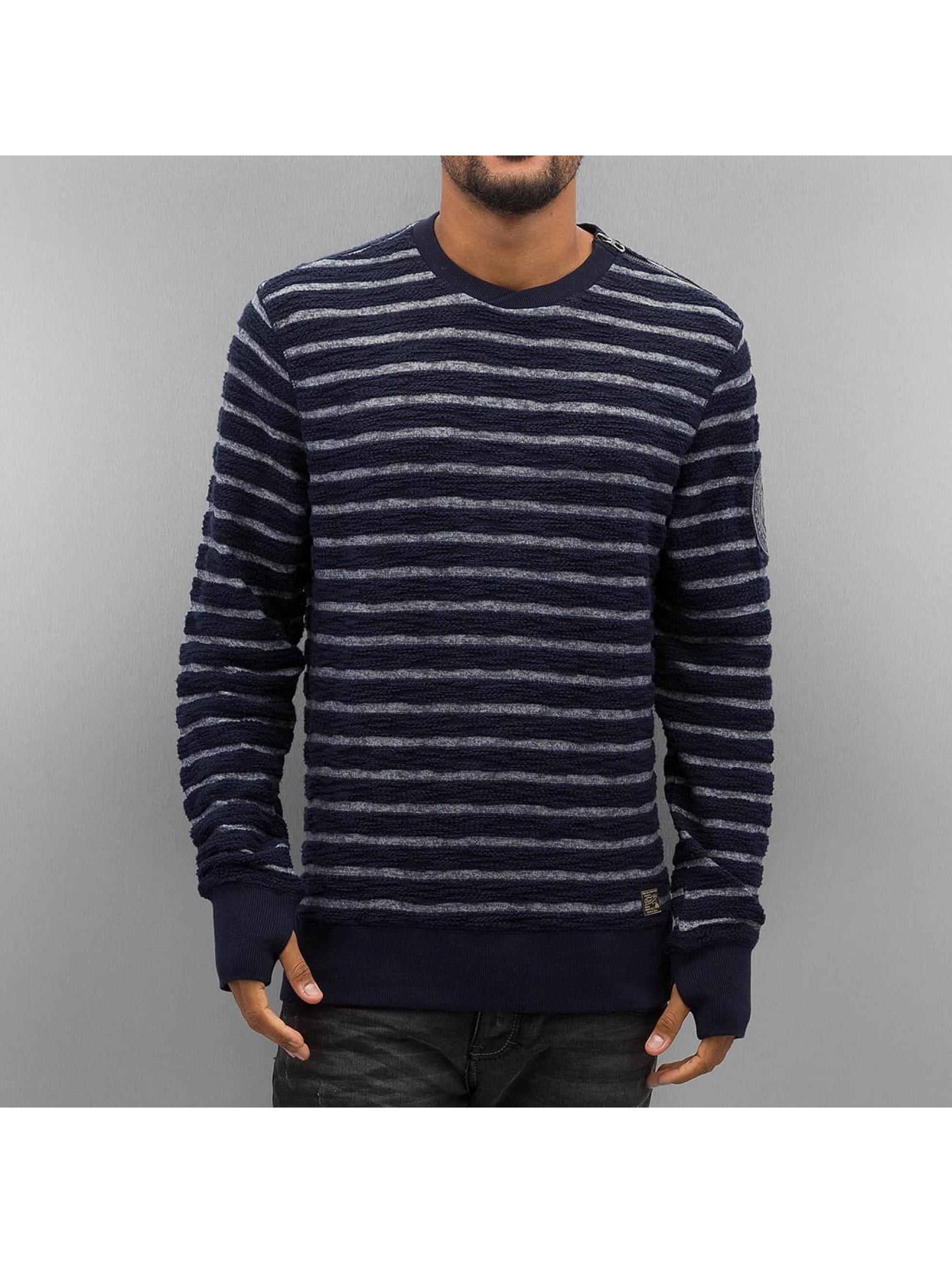 Pullover Stripes in blau